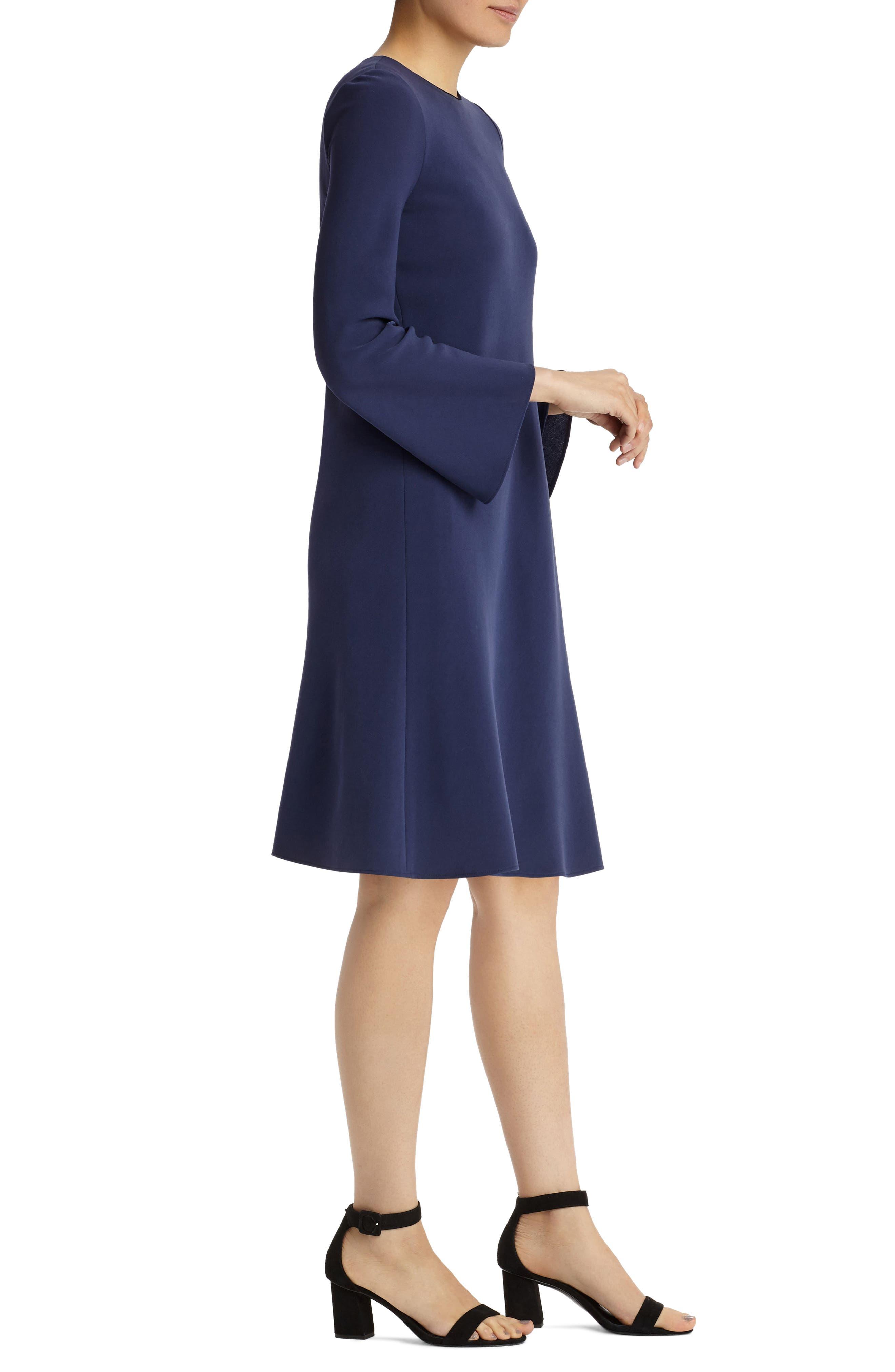 Alternate Image 3  - Lafayette 148 New York Kalitta Finesse Crepe Dress