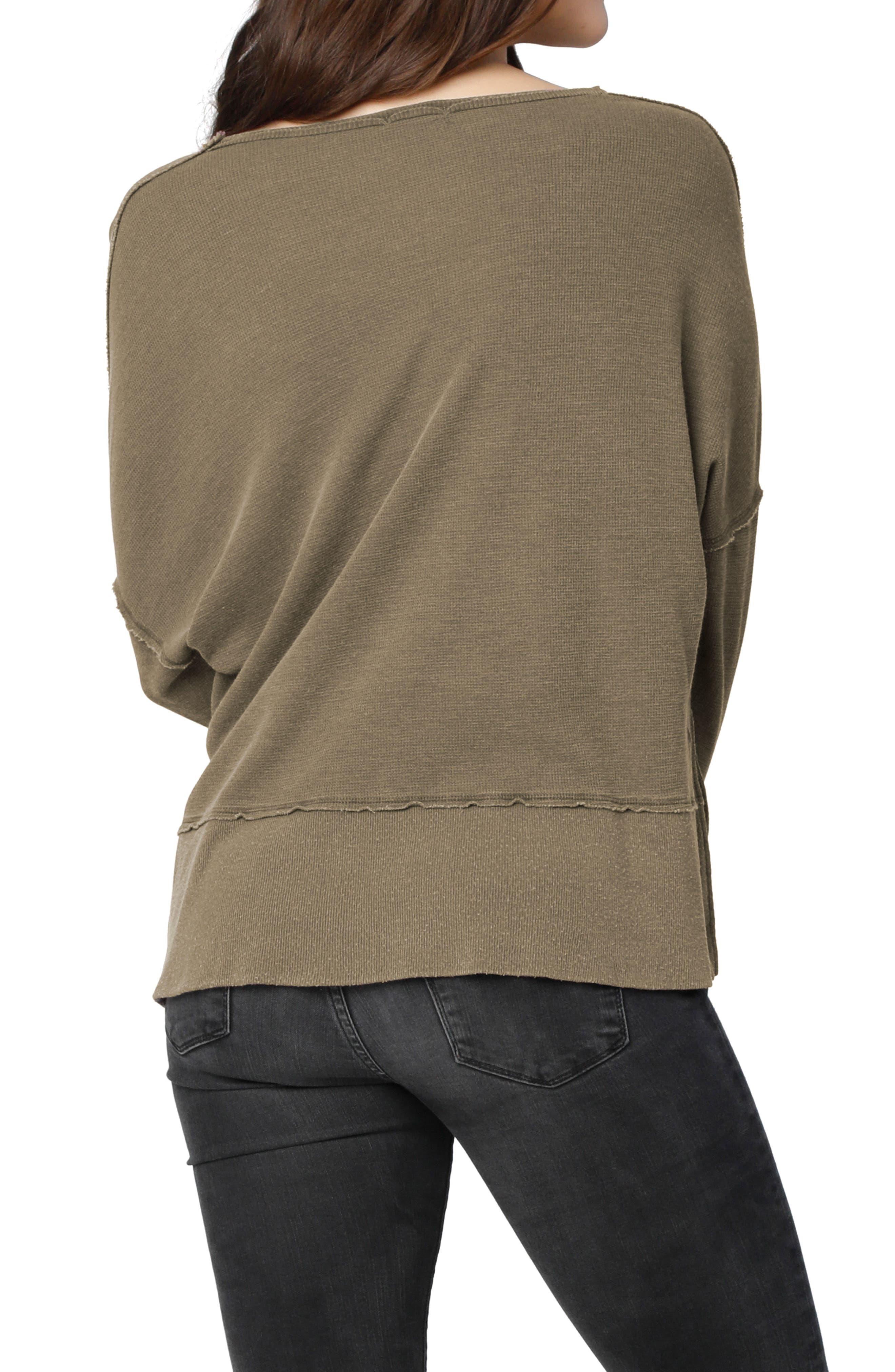 Alternate Image 2  - LAmade Lori Drop Shoulder Top