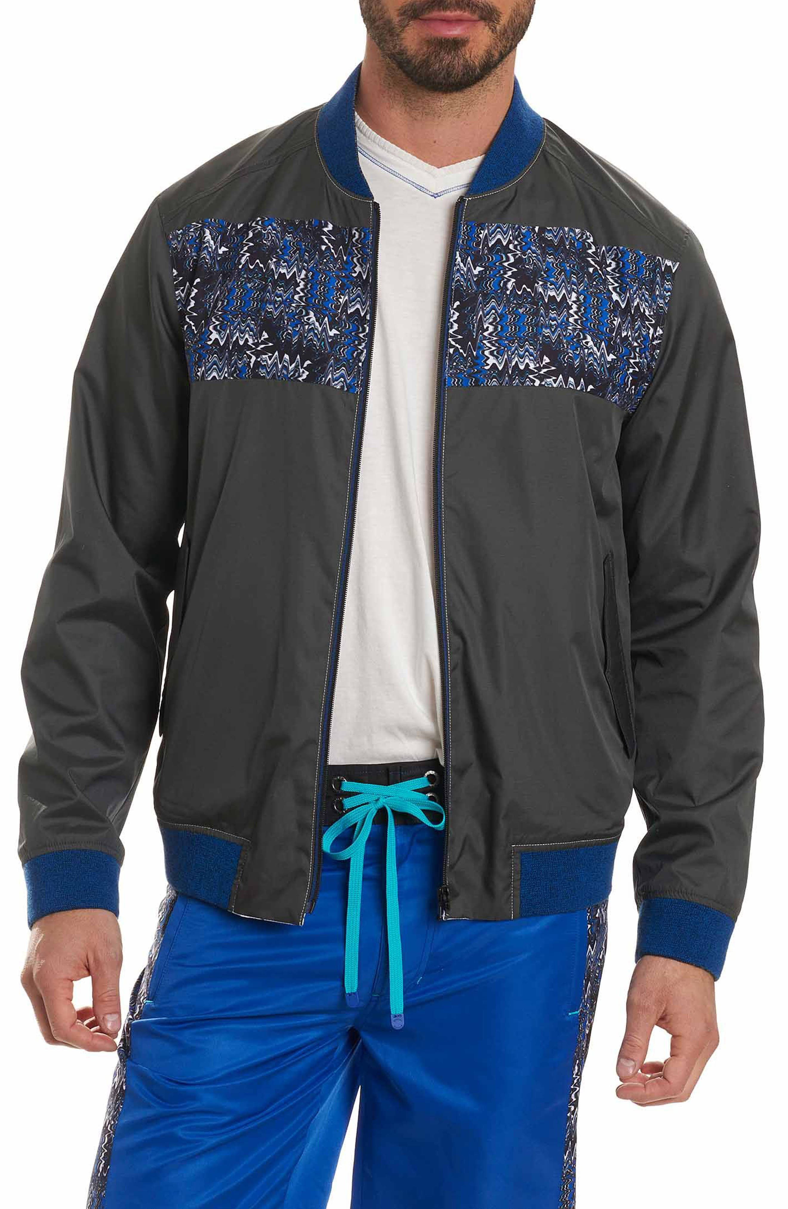 Sharpy Reversible Bomber Jacket,                         Main,                         color, Blue
