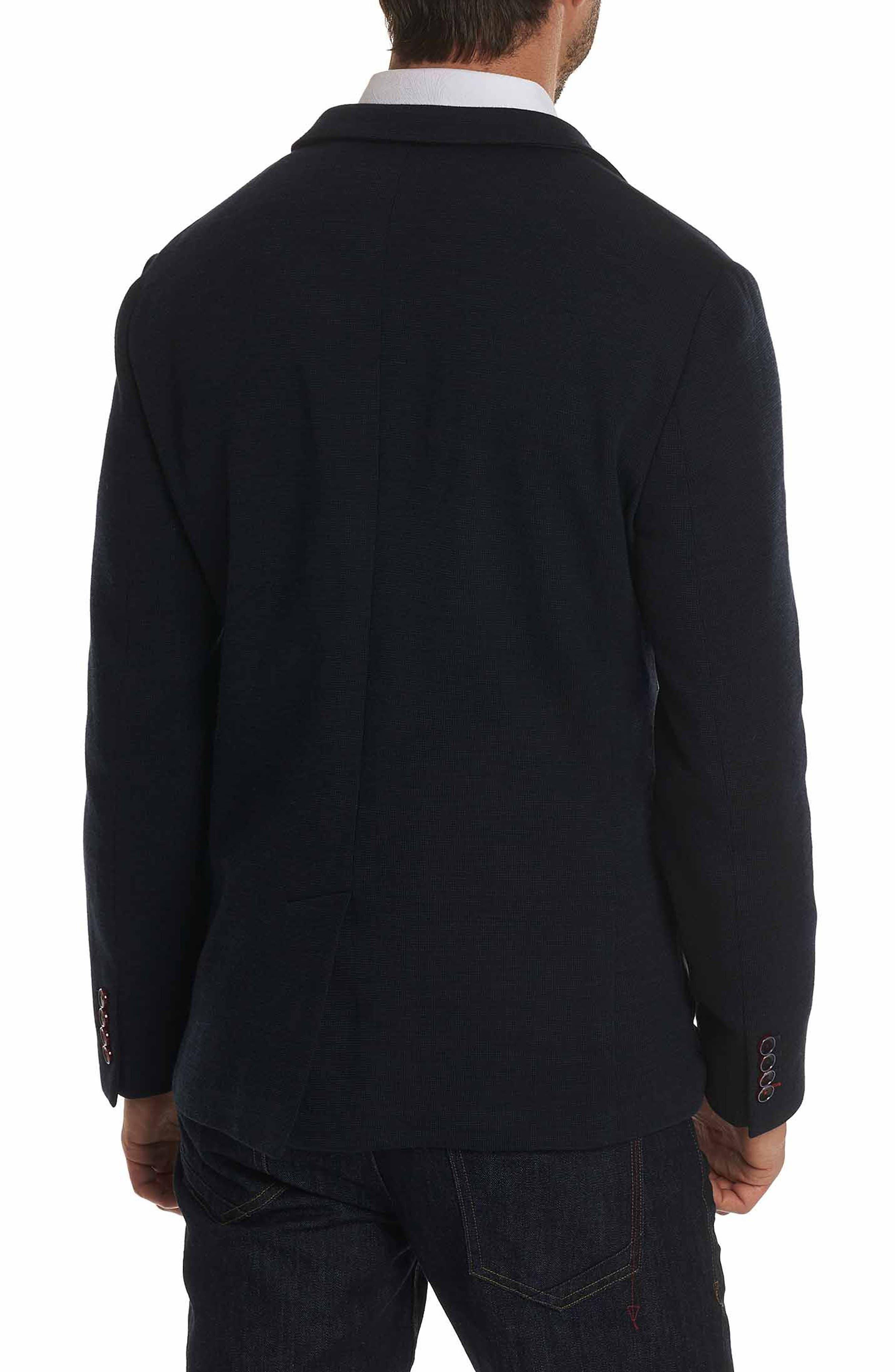 Waldo Woven Sport Coat,                             Alternate thumbnail 2, color,                             Navy