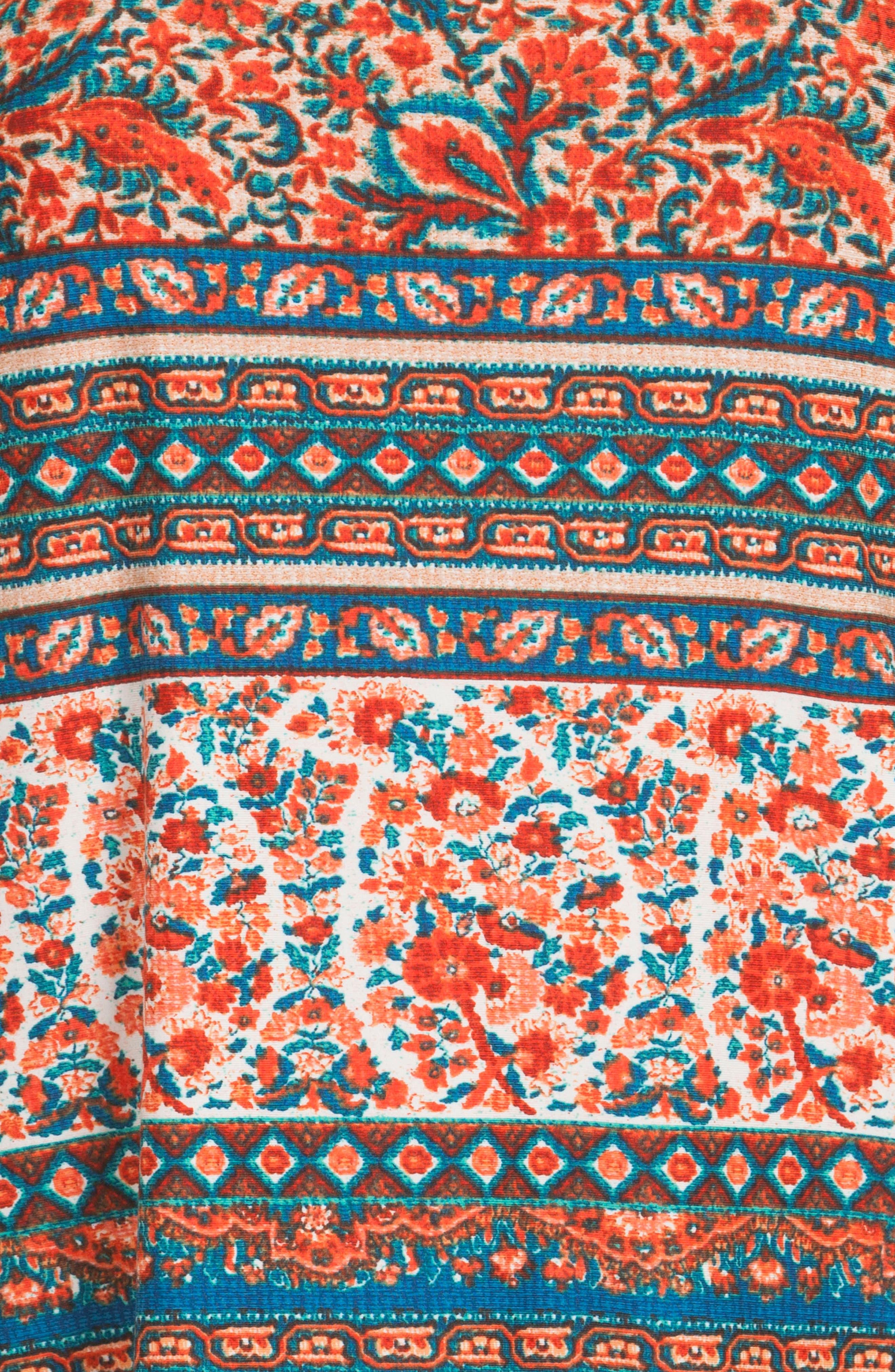 Print Pajamas,                             Alternate thumbnail 4, color,                             Folkloric Floral