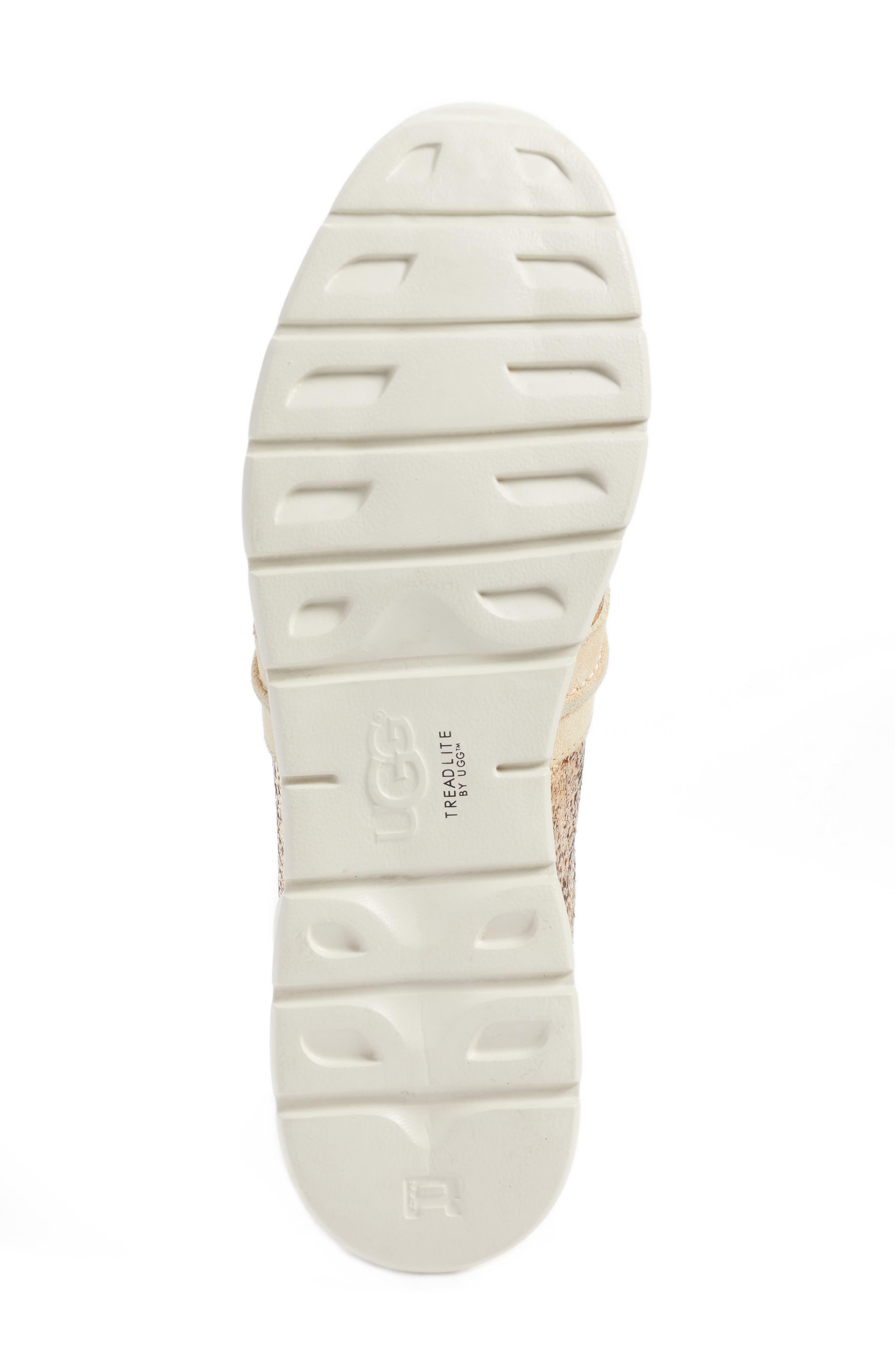 Alternate Image 6  - UGG® Jaida Glitter Sneaker (Women)