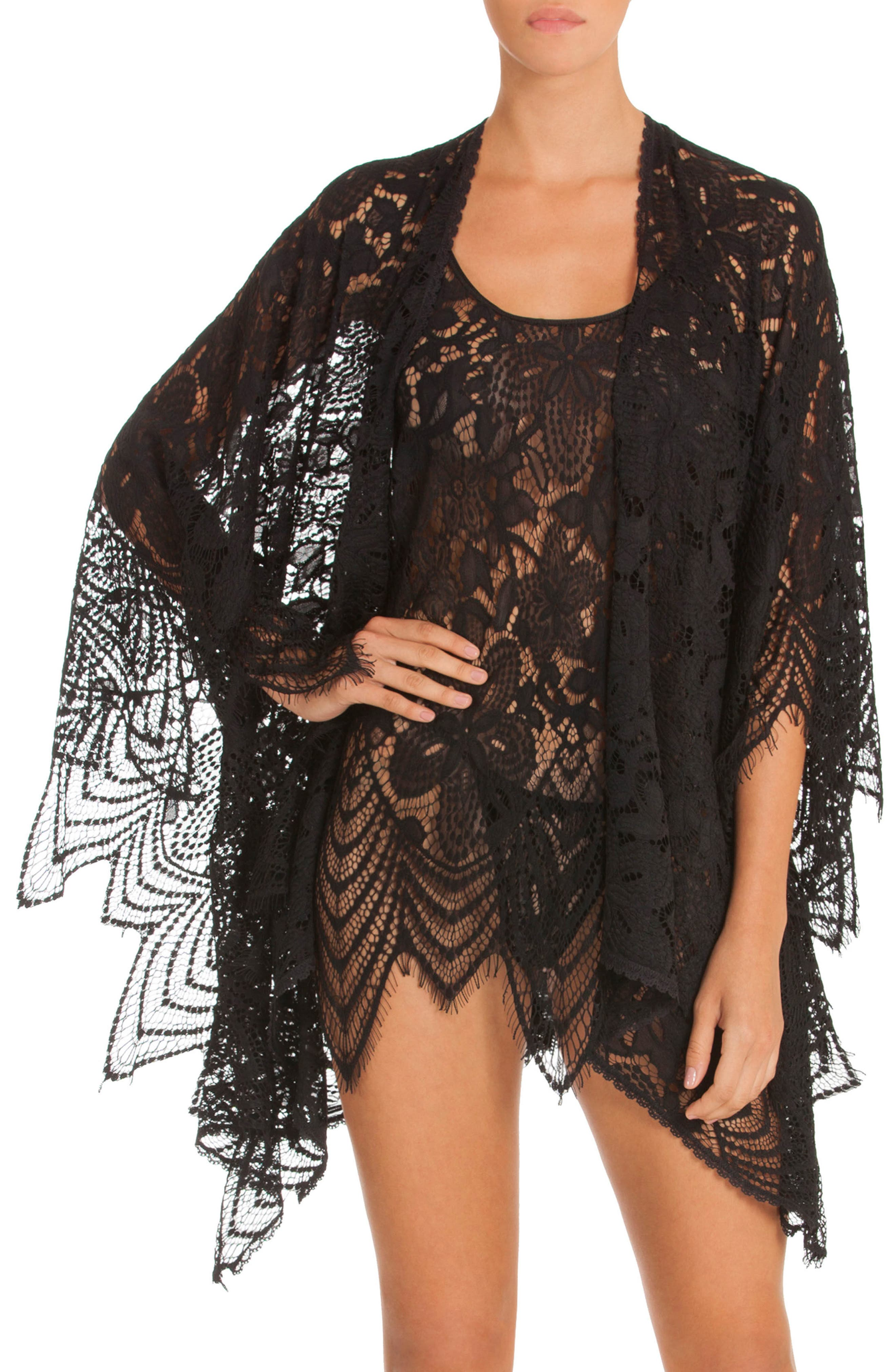 Main Image - In Bloom by Jonquil Dreamland Lace Wrap