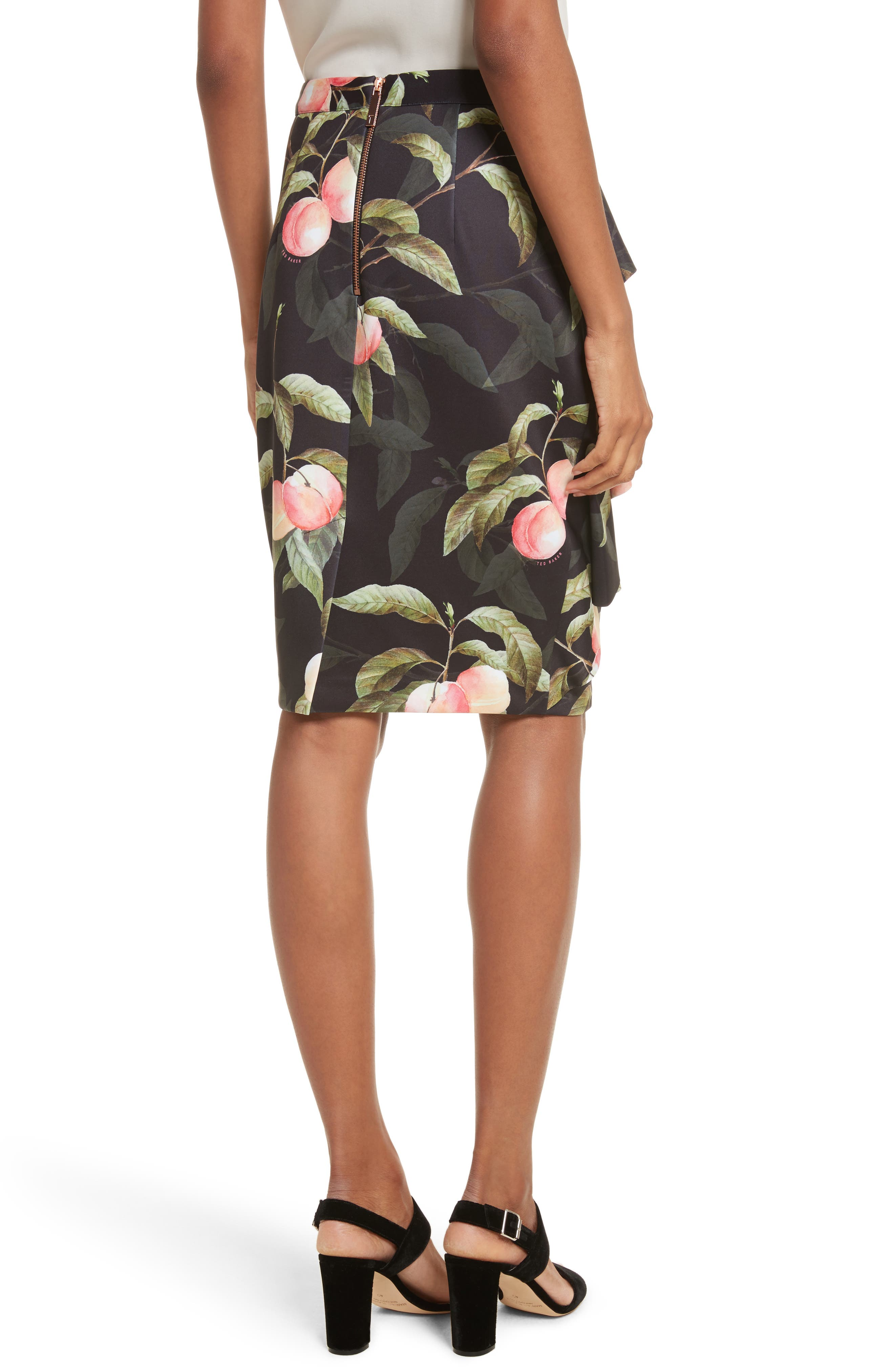Alternate Image 2  - Ted Baker London Peaches Ruffle Pencil Skirt