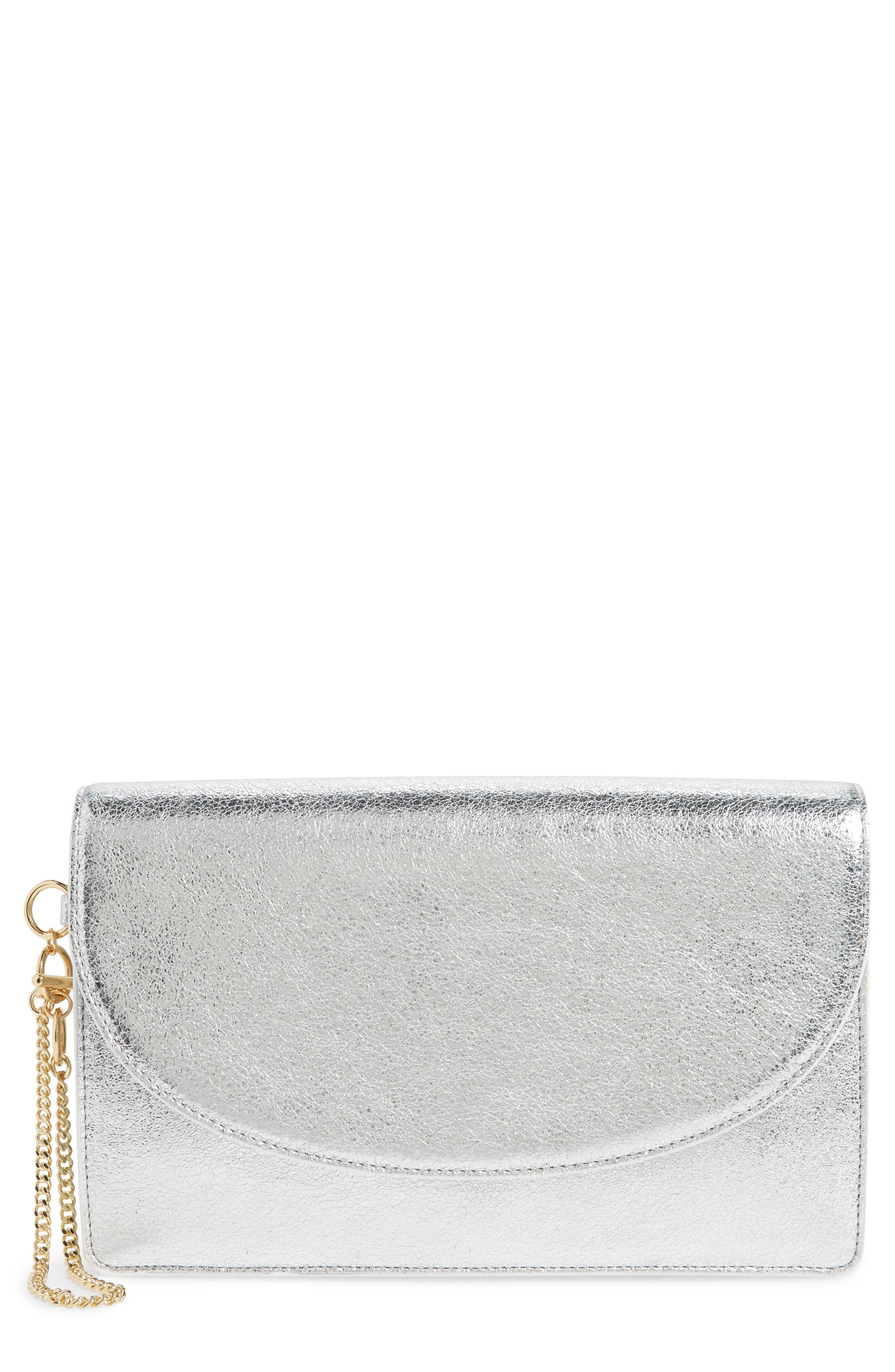 Diane von Furstenberg Saddle Leather Clutch