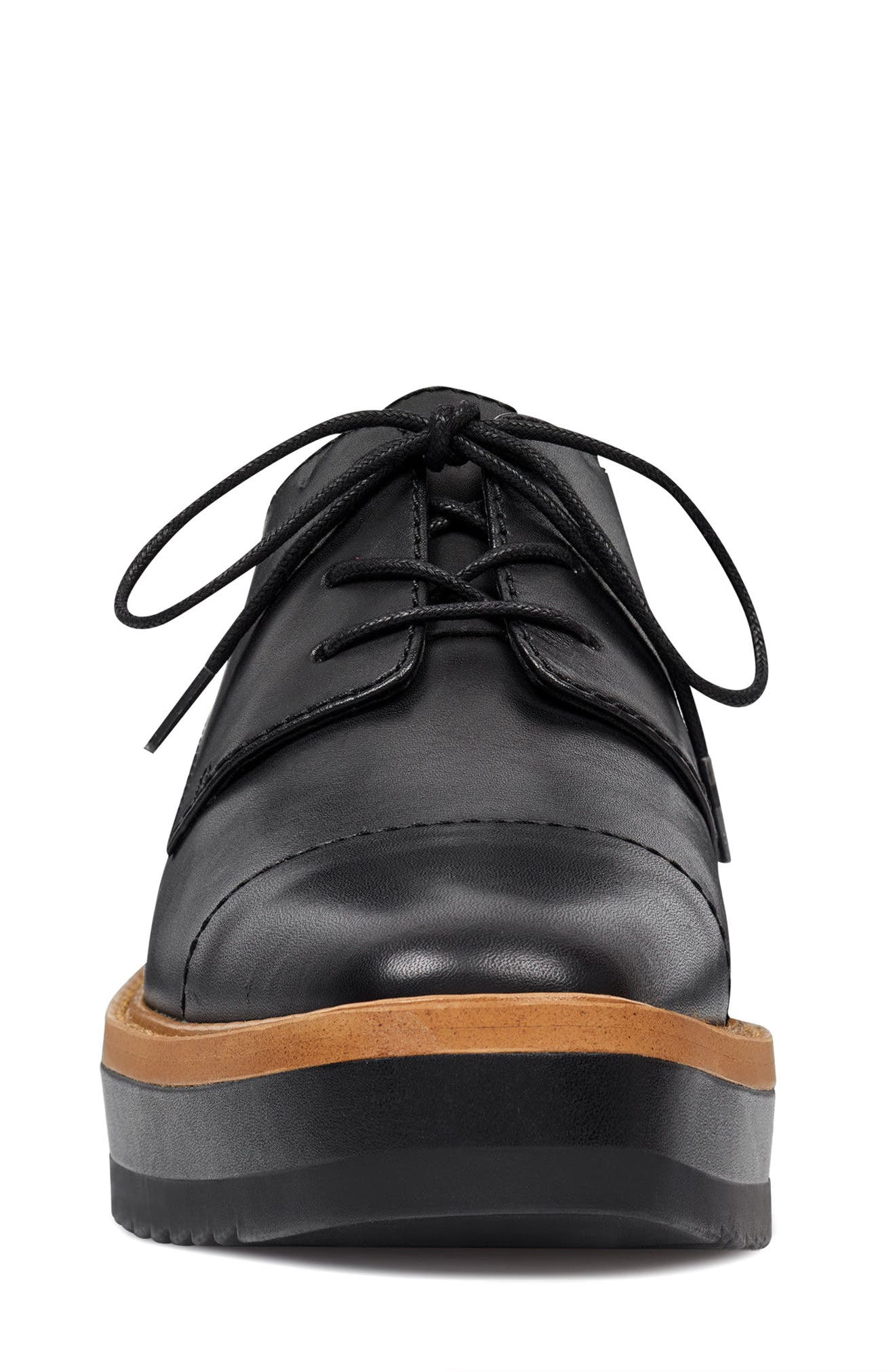 Vada Oxford,                             Alternate thumbnail 4, color,                             Black Leather