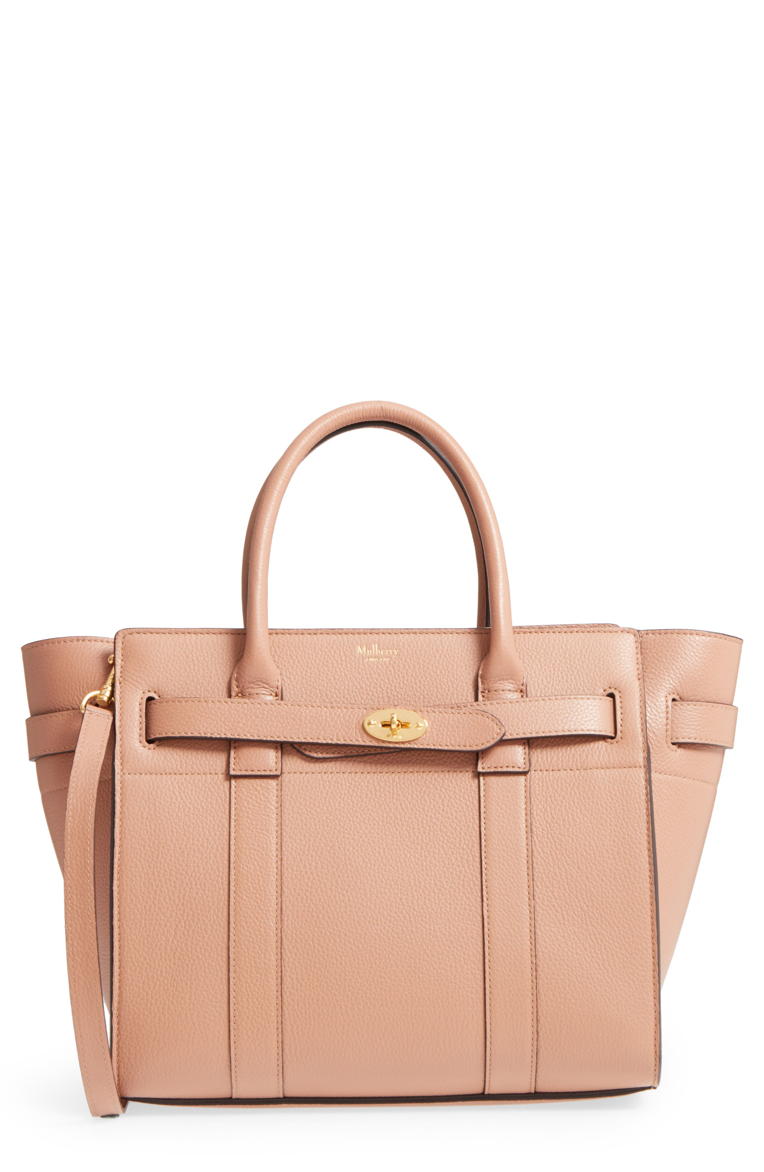 9b91af90d4 ... clearance mulberry small zip bayswater classic leather tote 40406 e8e10