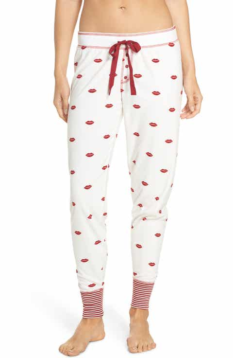 PJ Salvage Lip Print Pajama Pants