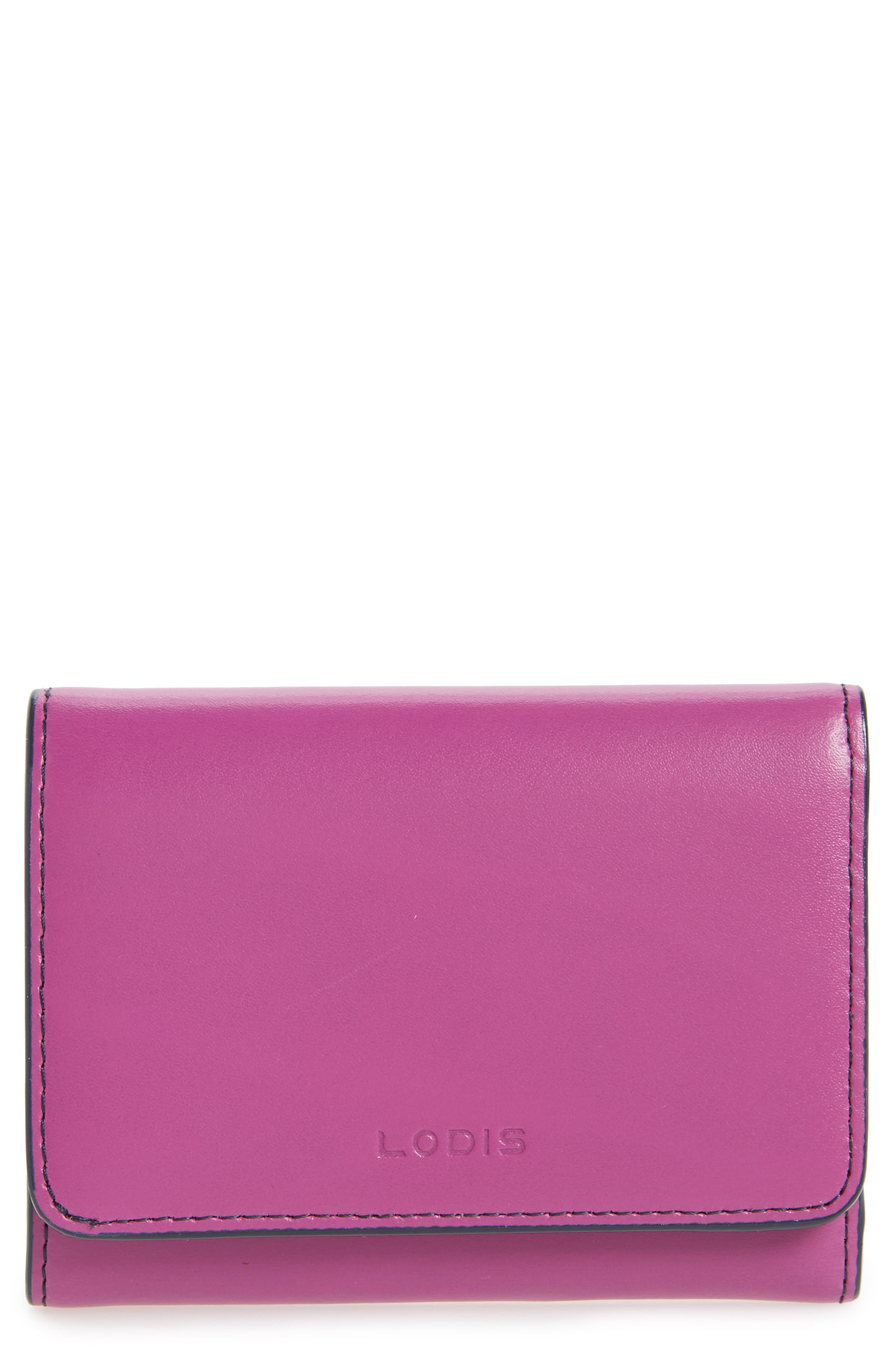 Alternate Image 1 Selected - Lodis Mallory RFID Leather Wallet