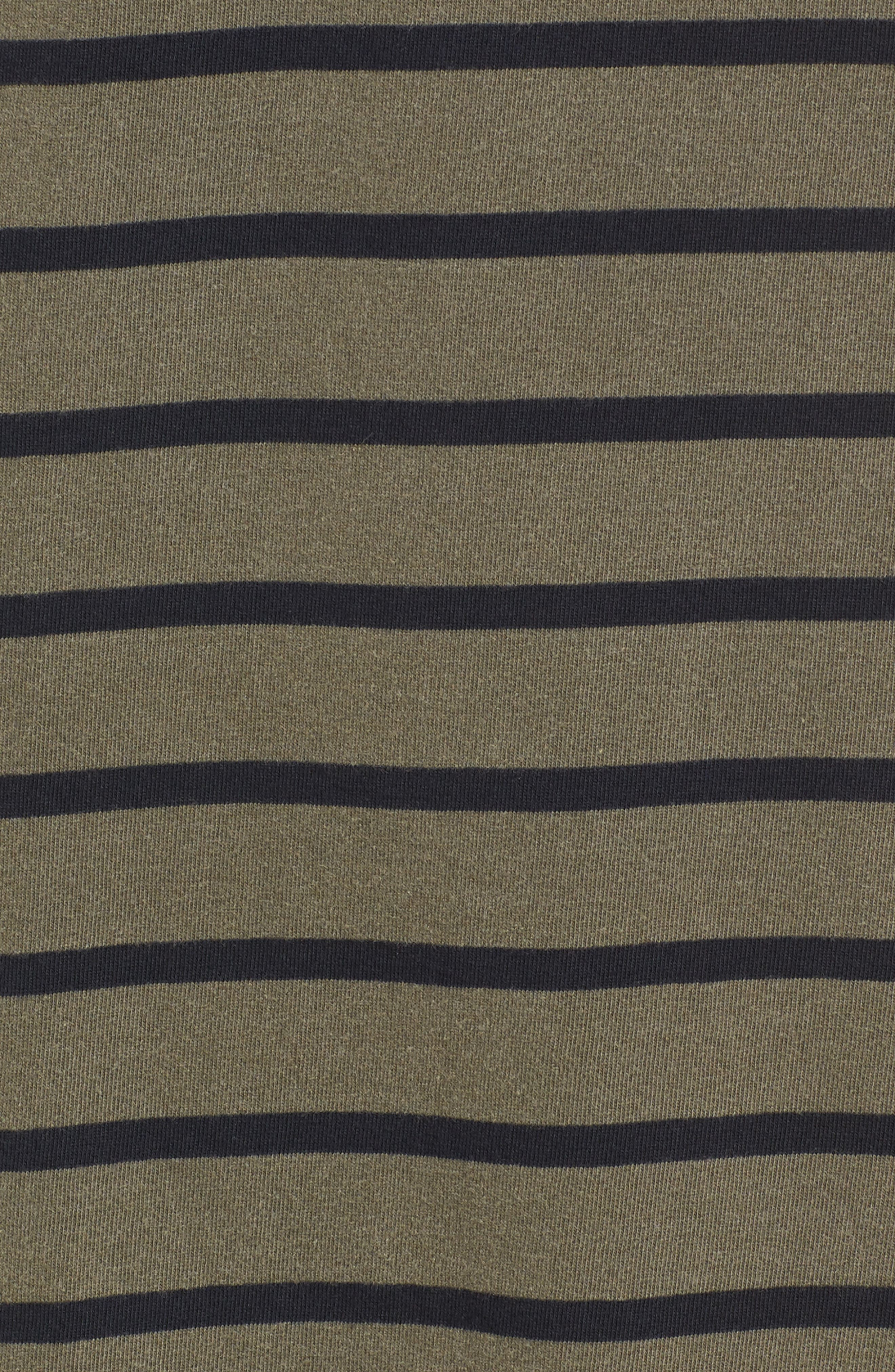 Alternate Image 5  - Stateside Stripe T-Shirt Dress
