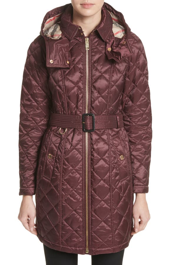 Burberry Baughton Quilted Coat | Nordstrom : red burberry quilted jacket - Adamdwight.com
