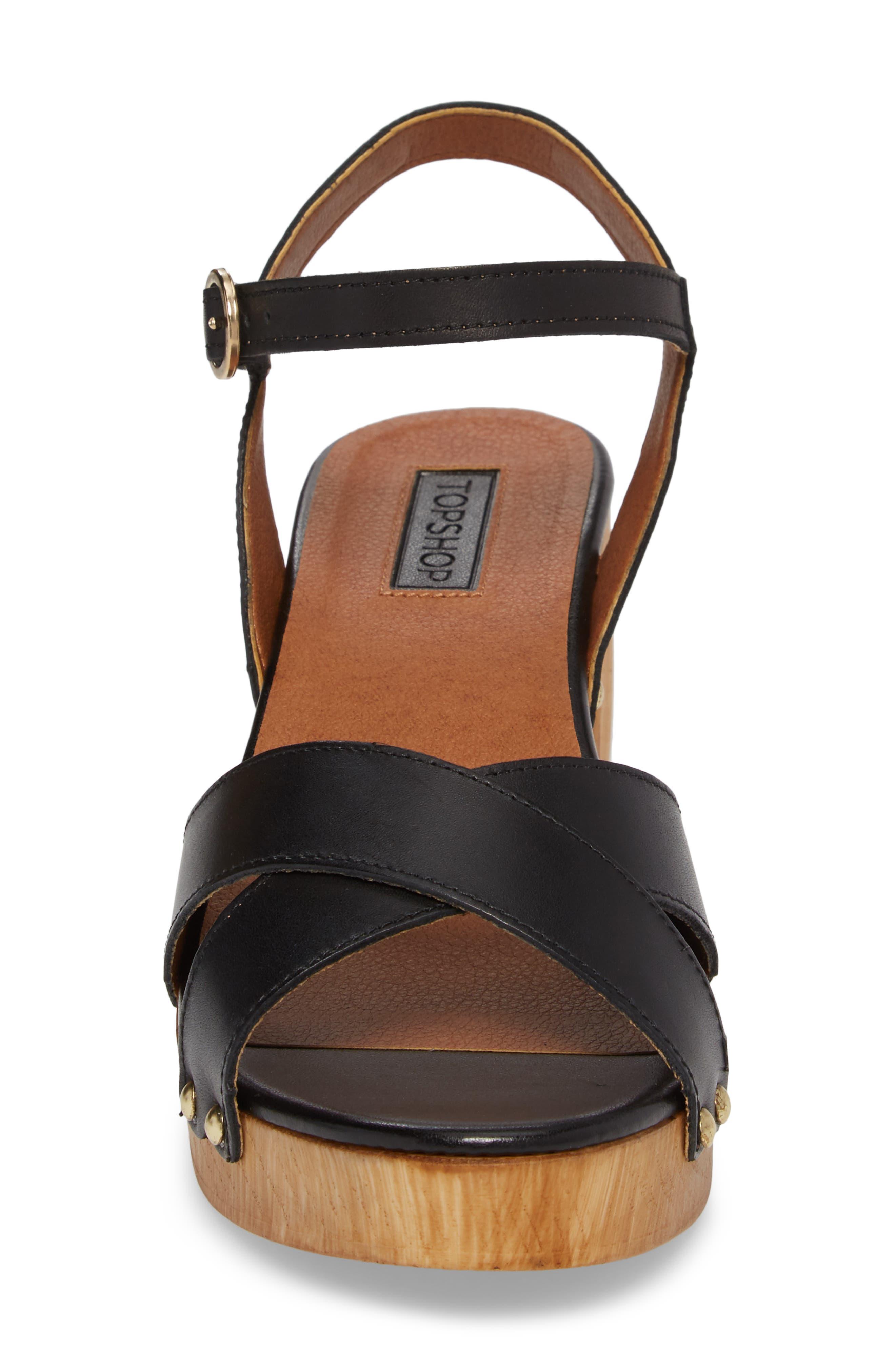 Alternate Image 4  - Topshop Valerie Platform Sandal (Women)