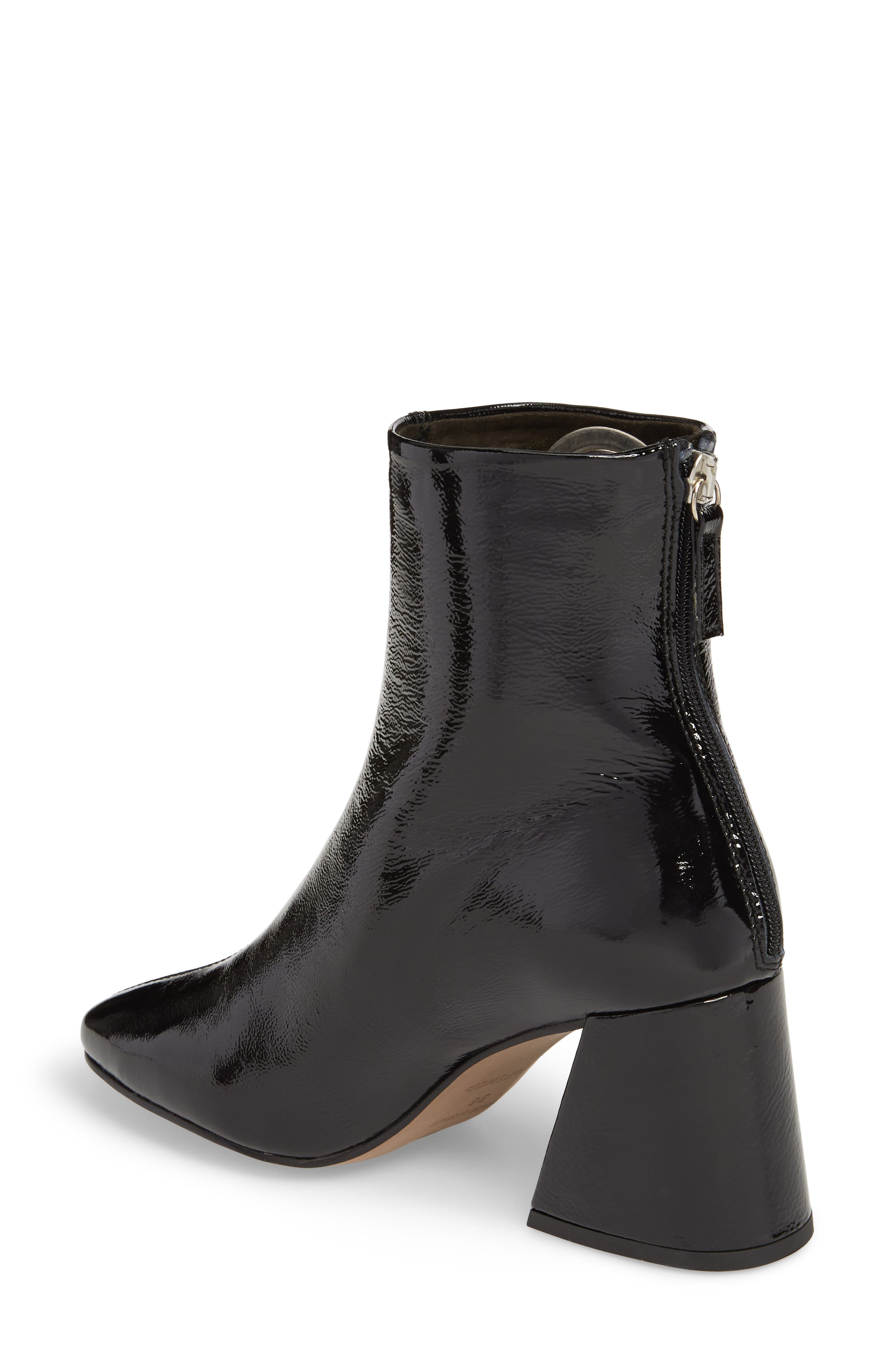 Malone Block Heel Bootie,                             Alternate thumbnail 2, color,                             Black