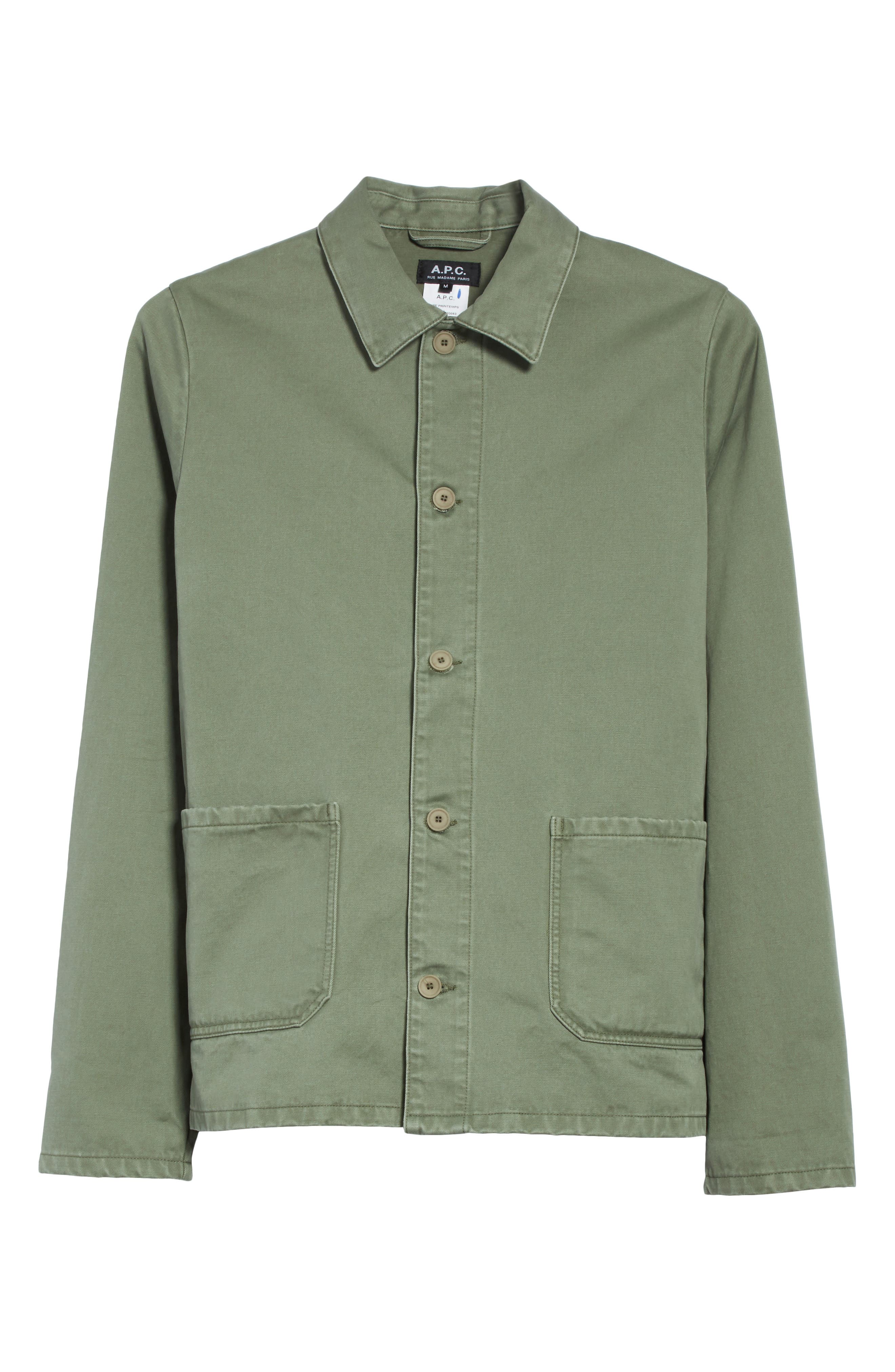 Alternate Image 6  - A.P.C. Kerlouan Shirt Jacket