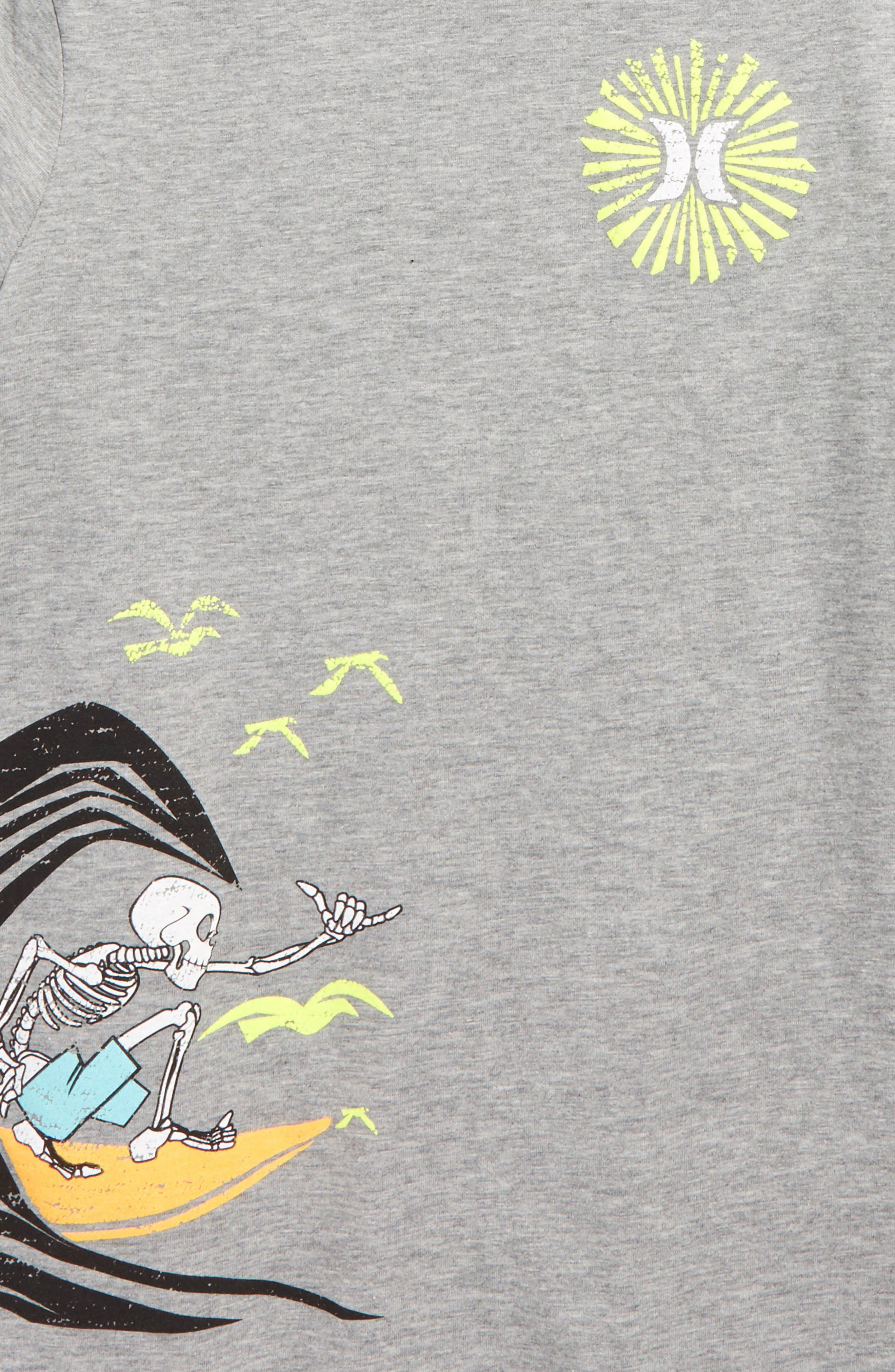 Alternate Image 2  - Hurley Retro Cali Graphic T-Shirt (Big Boys)