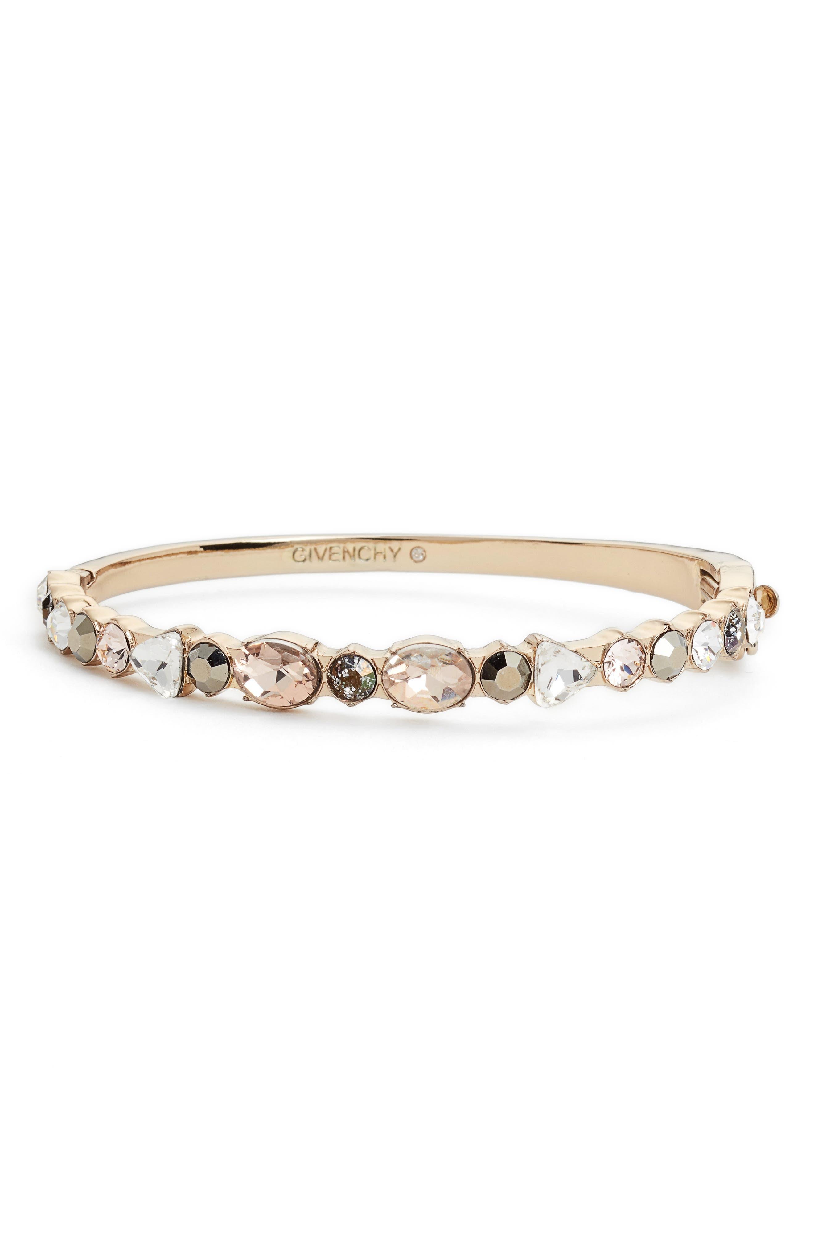 Swarovski Crystal Bracelet,                         Main,                         color, Gold
