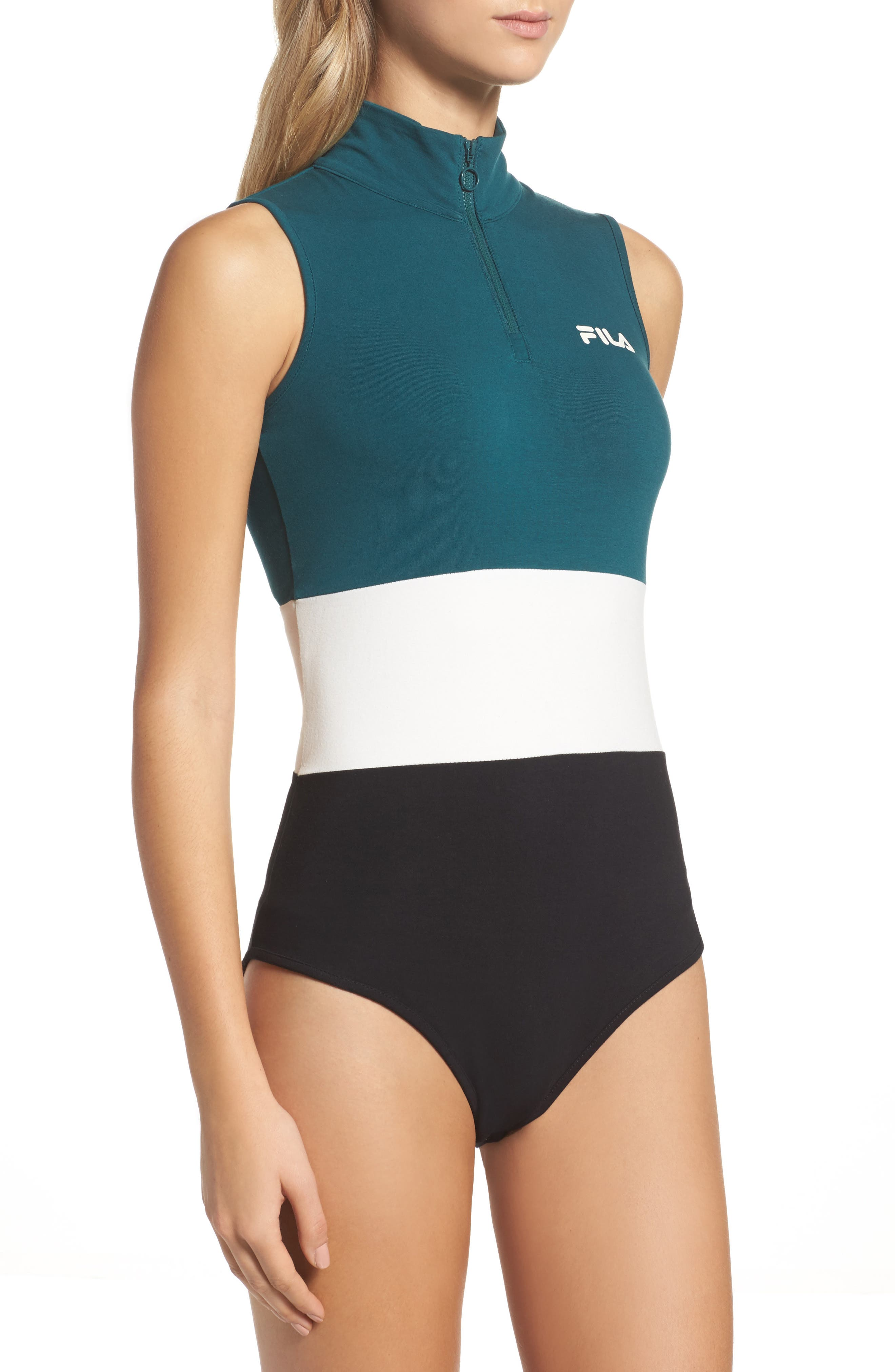 Alternate Image 3  - FILA Bianca Bodysuit