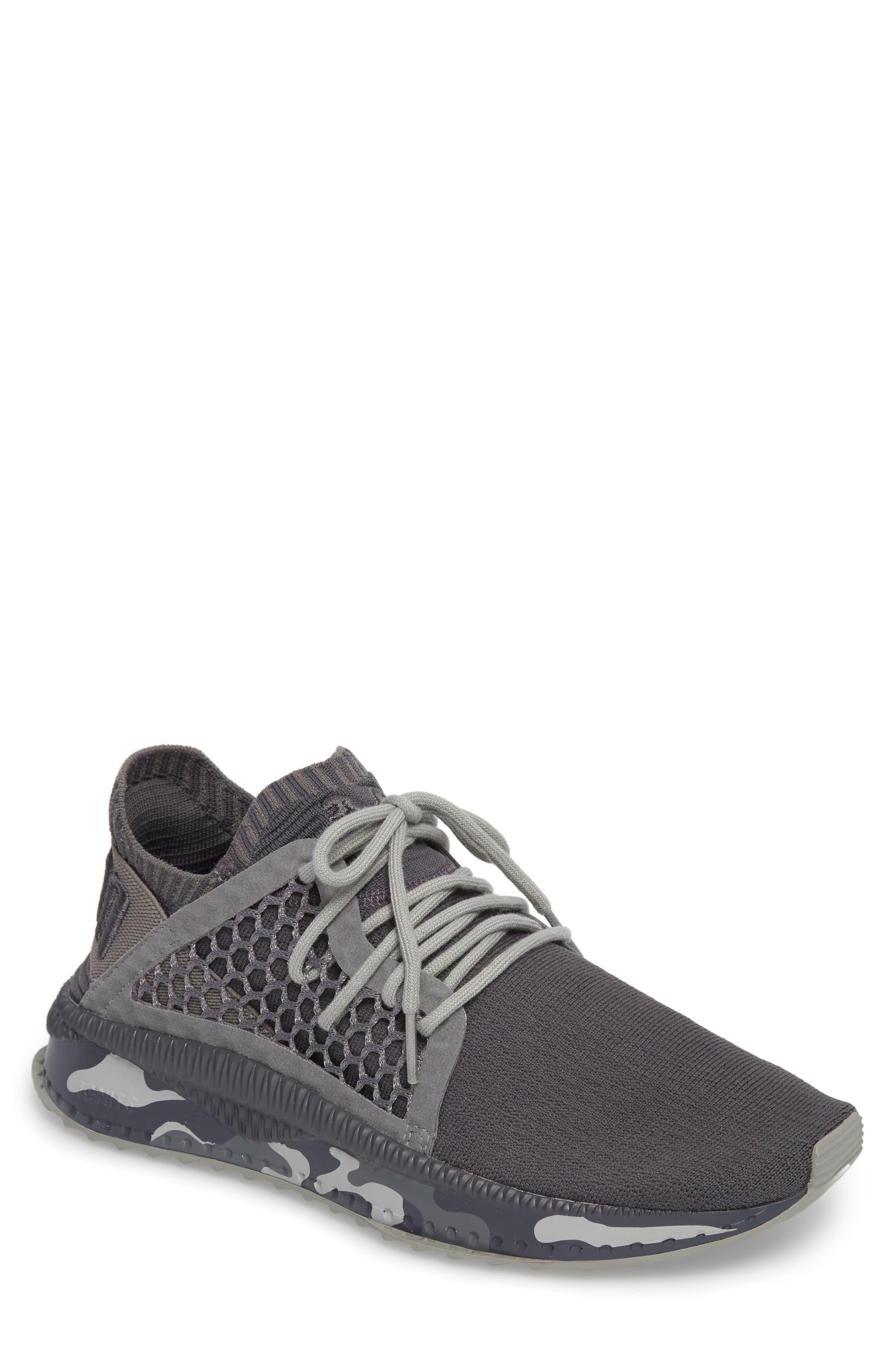 Tsugi Netfit evoKNIT Training Shoe,                         Main,                         color, Quiet Shade-Asphalt