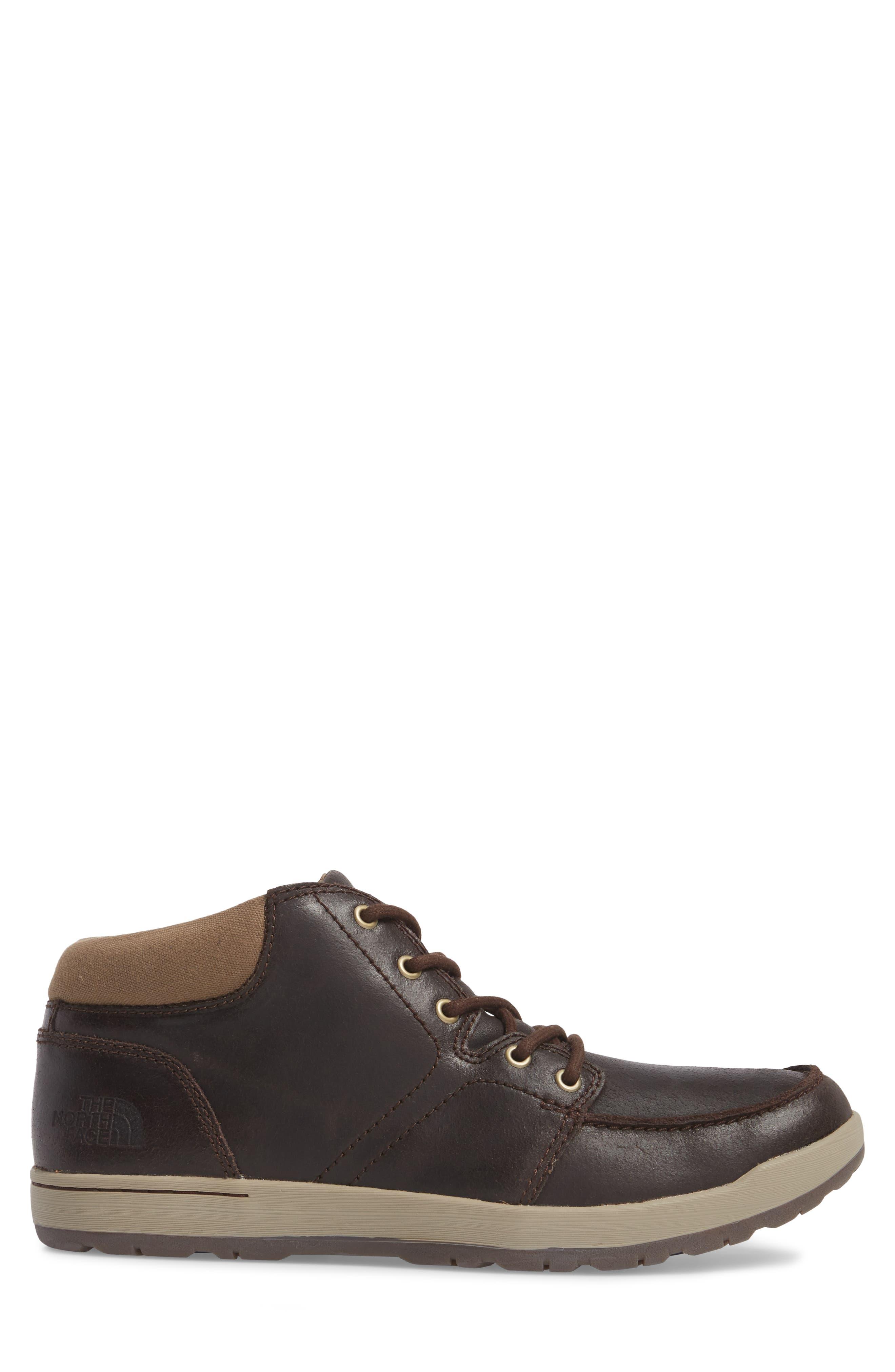 Ballard Evo Moc Toe Boot,                             Alternate thumbnail 3, color,                             Demitasse Brown