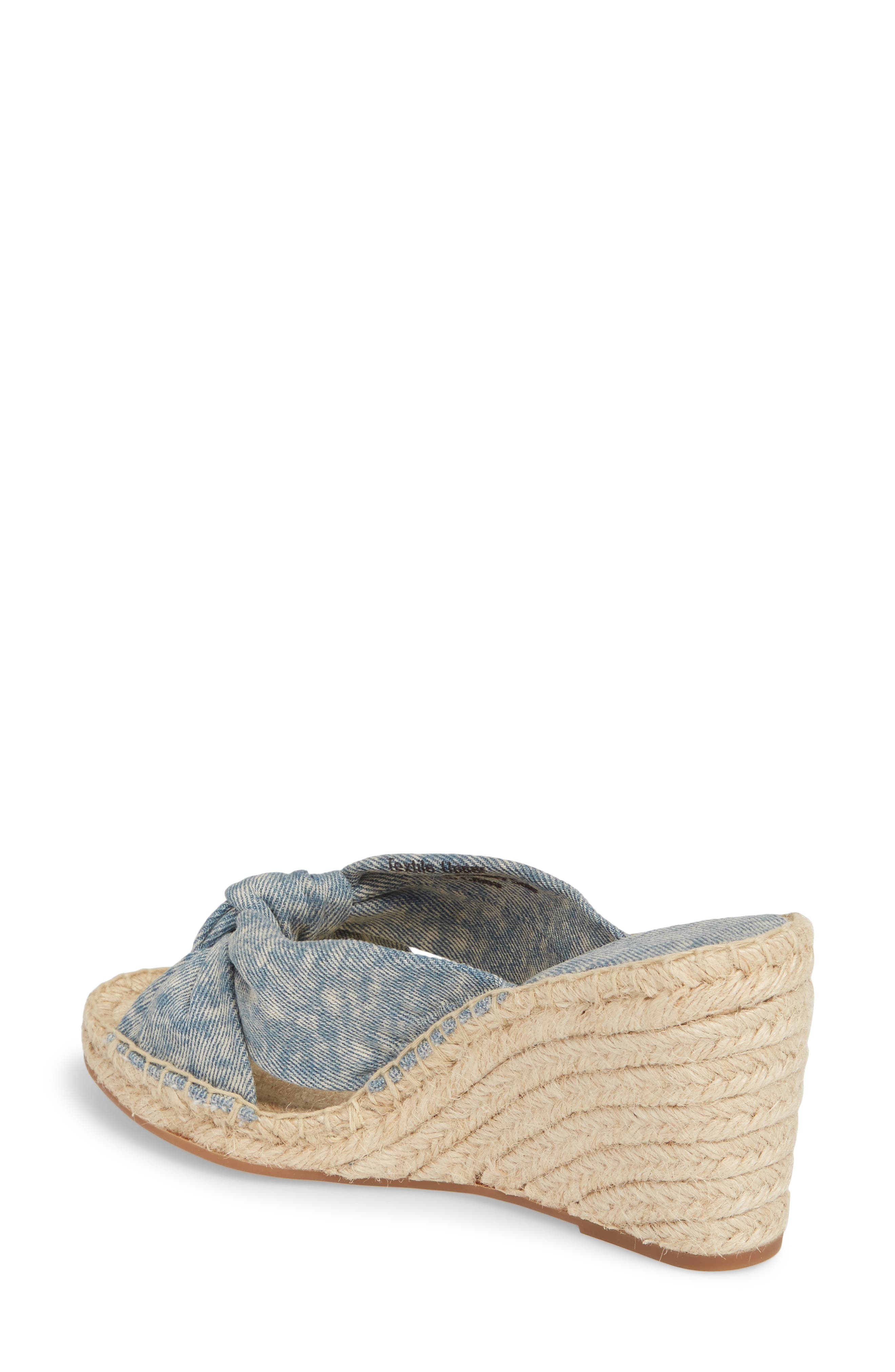 Alternate Image 2  - Splendid Bautista Knotted Wedge Sandal (Women)