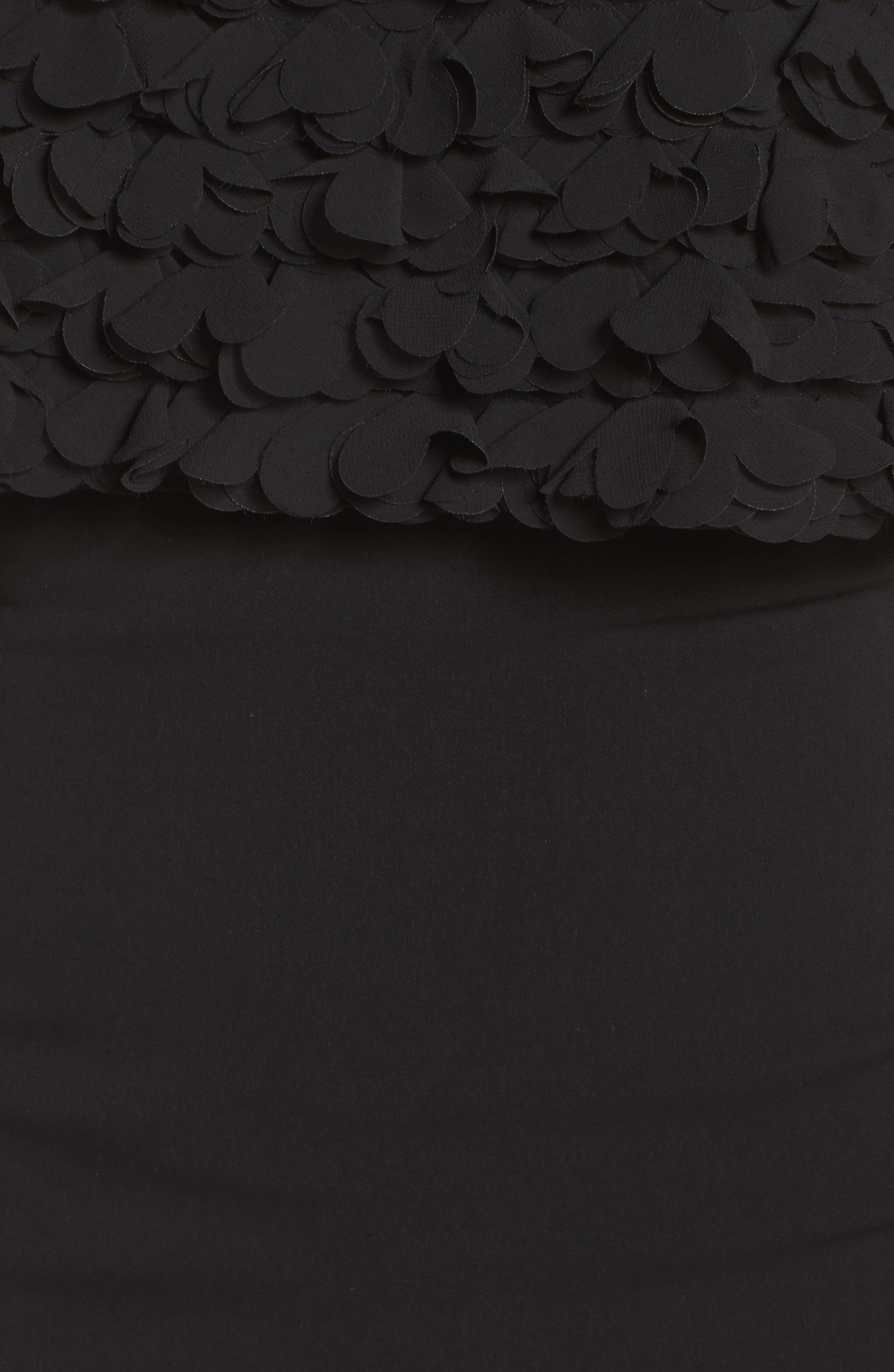 Alternate Image 5  - Badgley Mischka Off the Shoulder Sheath Dress