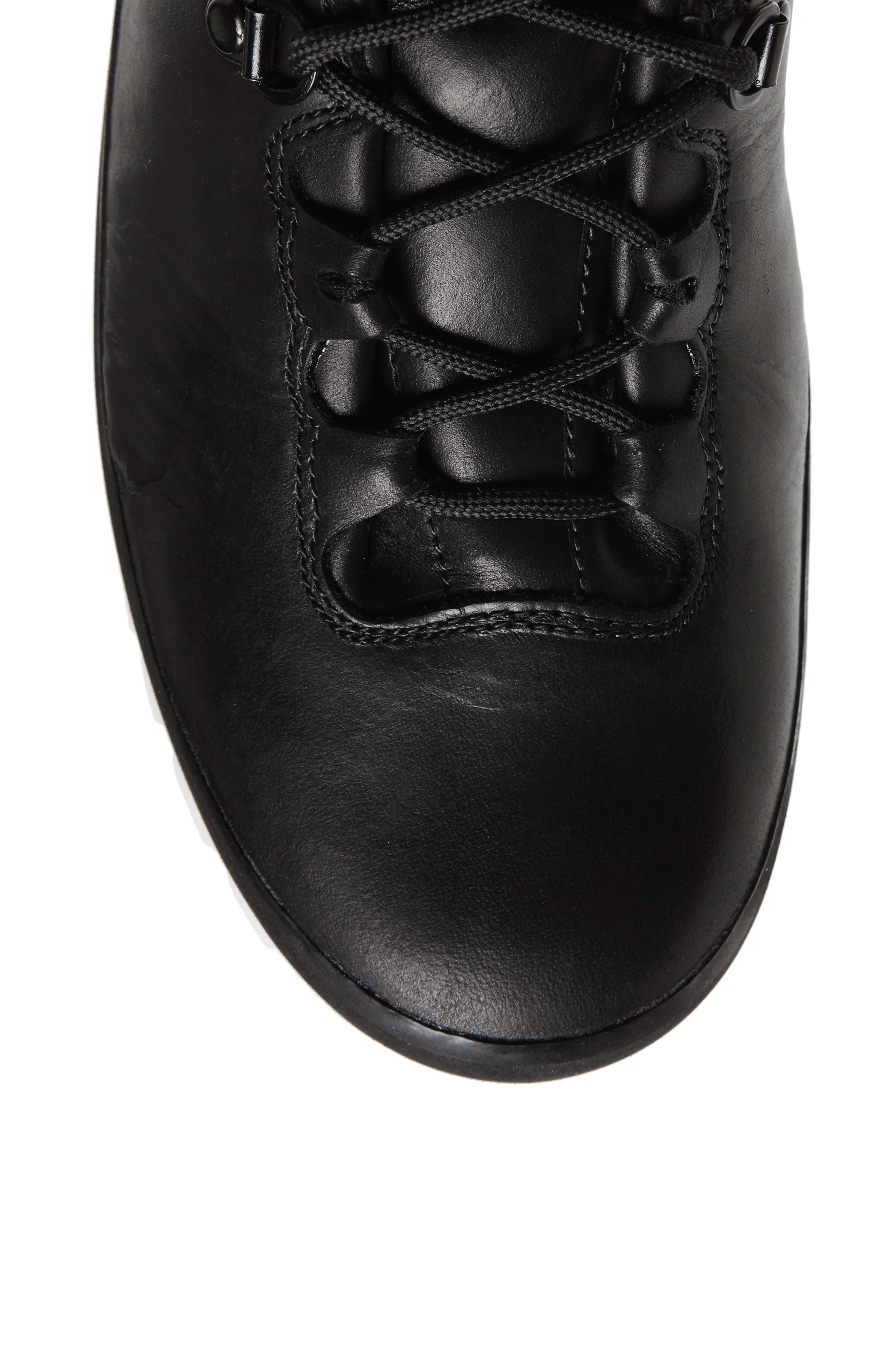 Cryos Hiker Boot,                             Alternate thumbnail 5, color,                             Tnf Black/ Tnf White