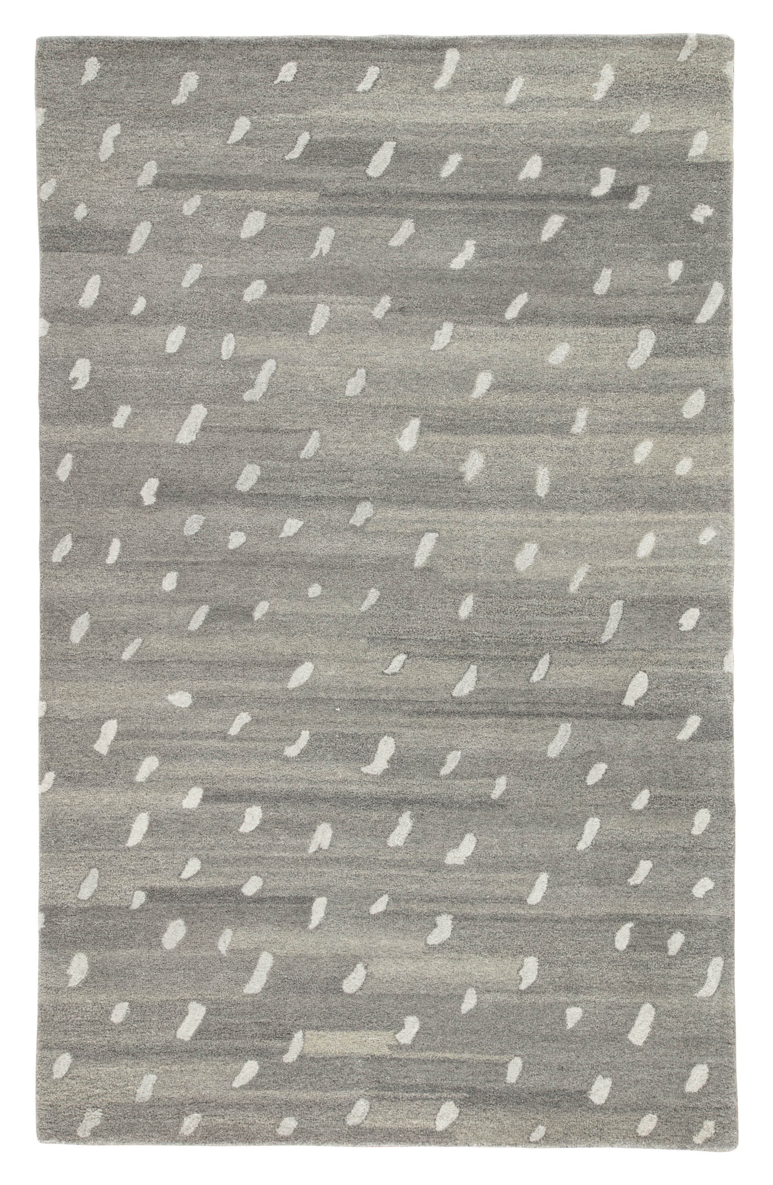 gramercy wool rug,                         Main,                         color, Heather Gray