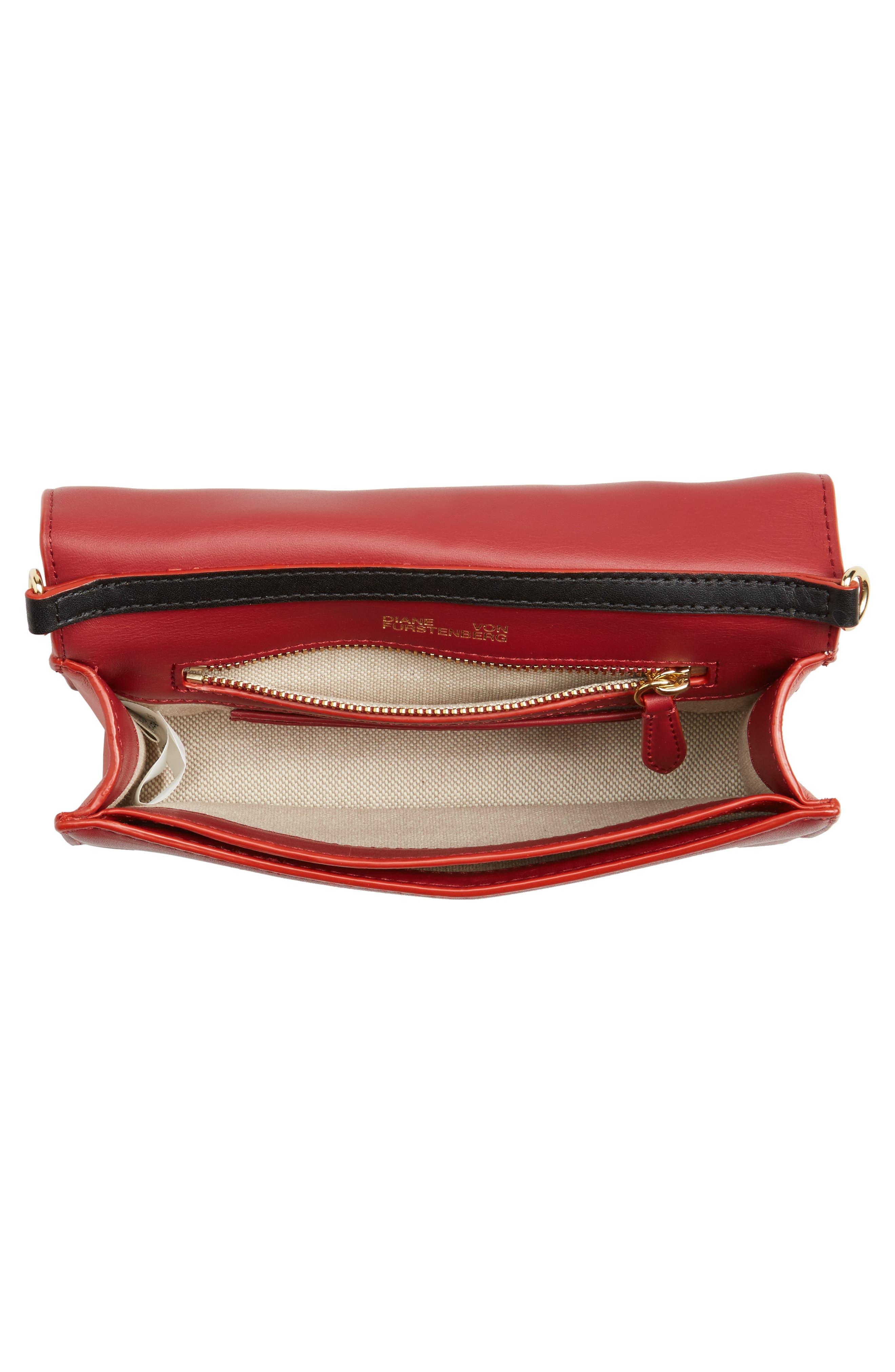 Soirée Genuine Calf Hair & Leather Convertible Shoulder Bag,                             Alternate thumbnail 4, color,                             Mauve
