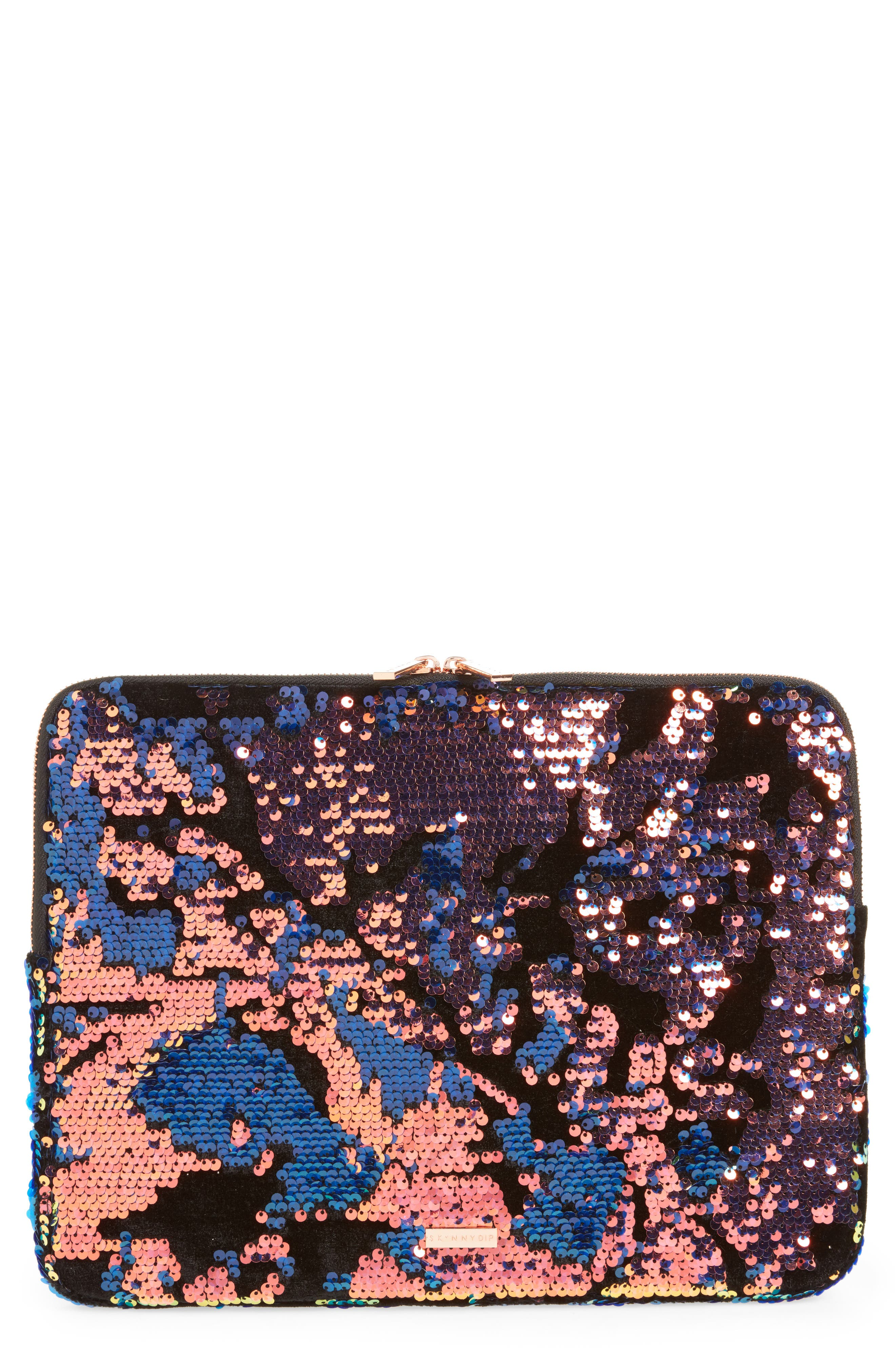 Skinny Dip Luxe 13-Inch Laptop Case,                             Main thumbnail 1, color,                             Multi