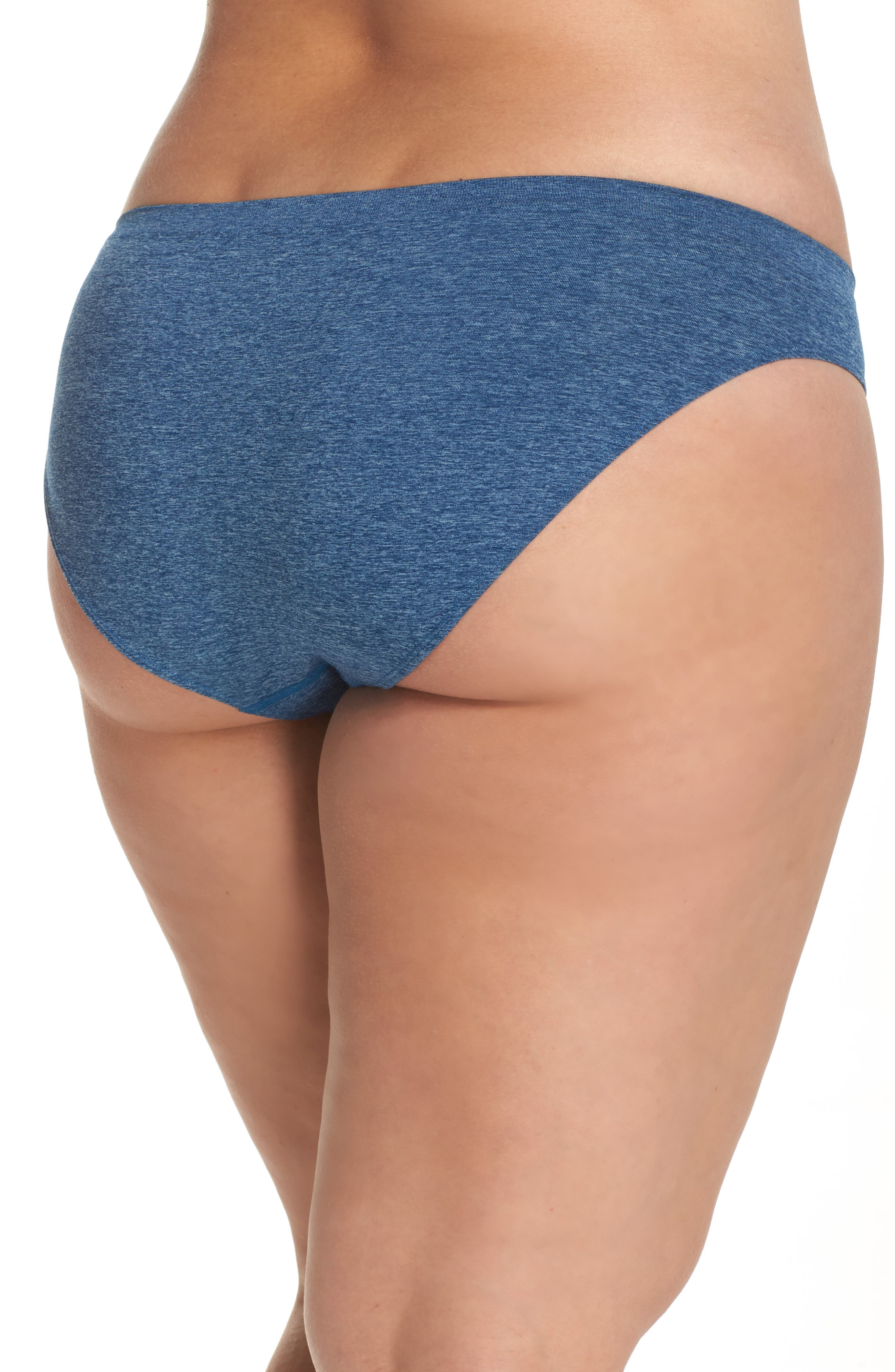 Alternate Image 2  - Halogen® Seamless Bikini (Plus Size) (3 for $33)