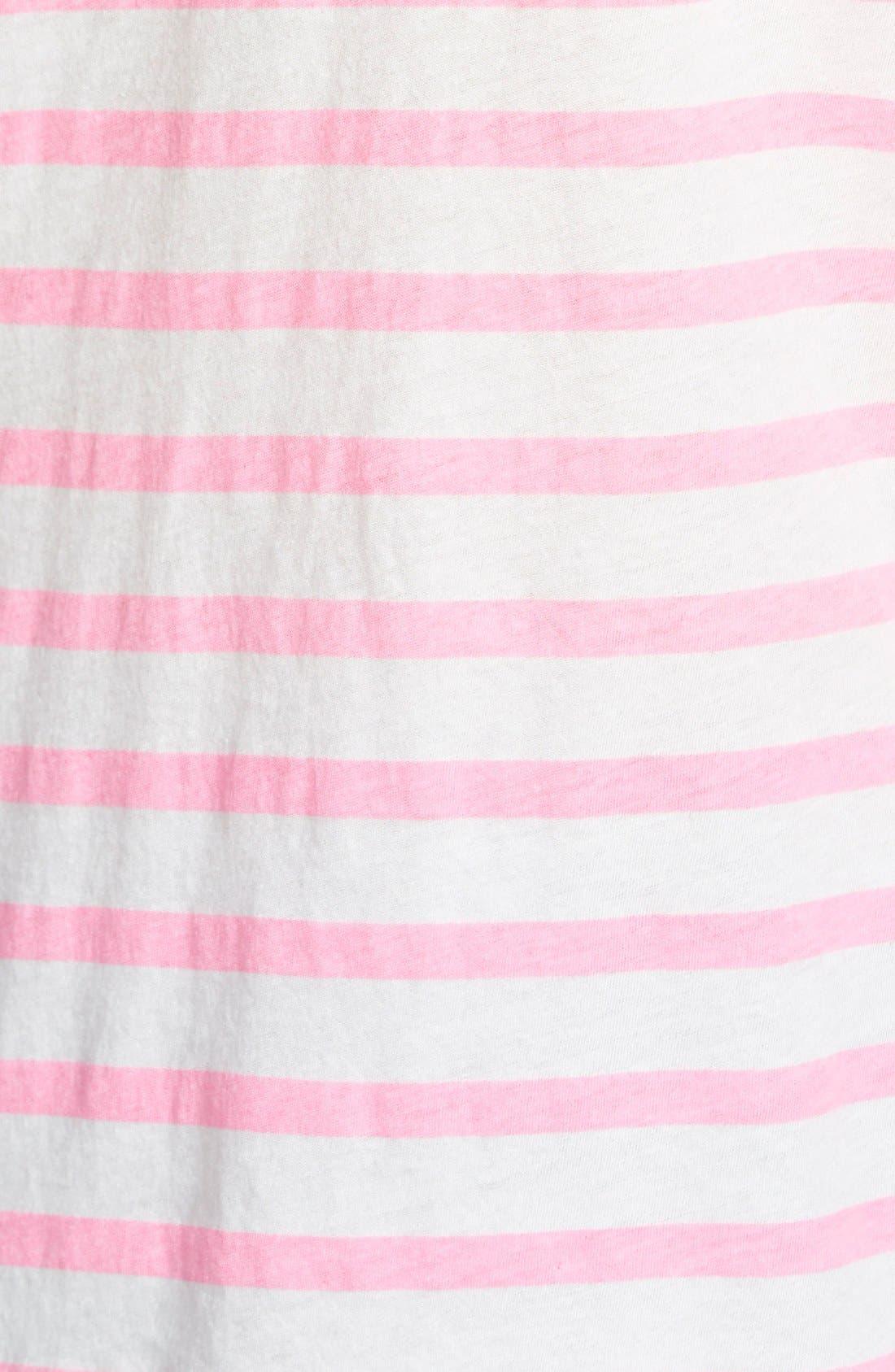 Alternate Image 3  - Sundry Long Sleeve Stripe Tee