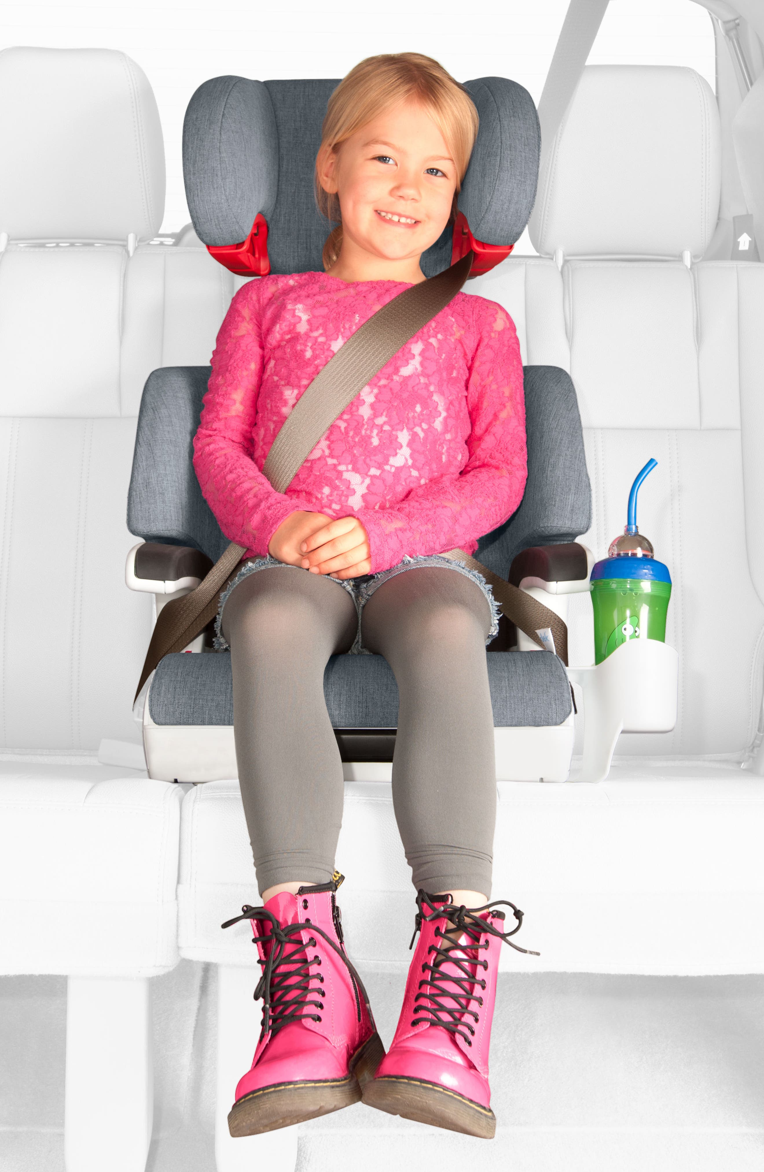 Alternate Image 4  - Clek Oobr Convertible Full Back/Backless Booster Seat