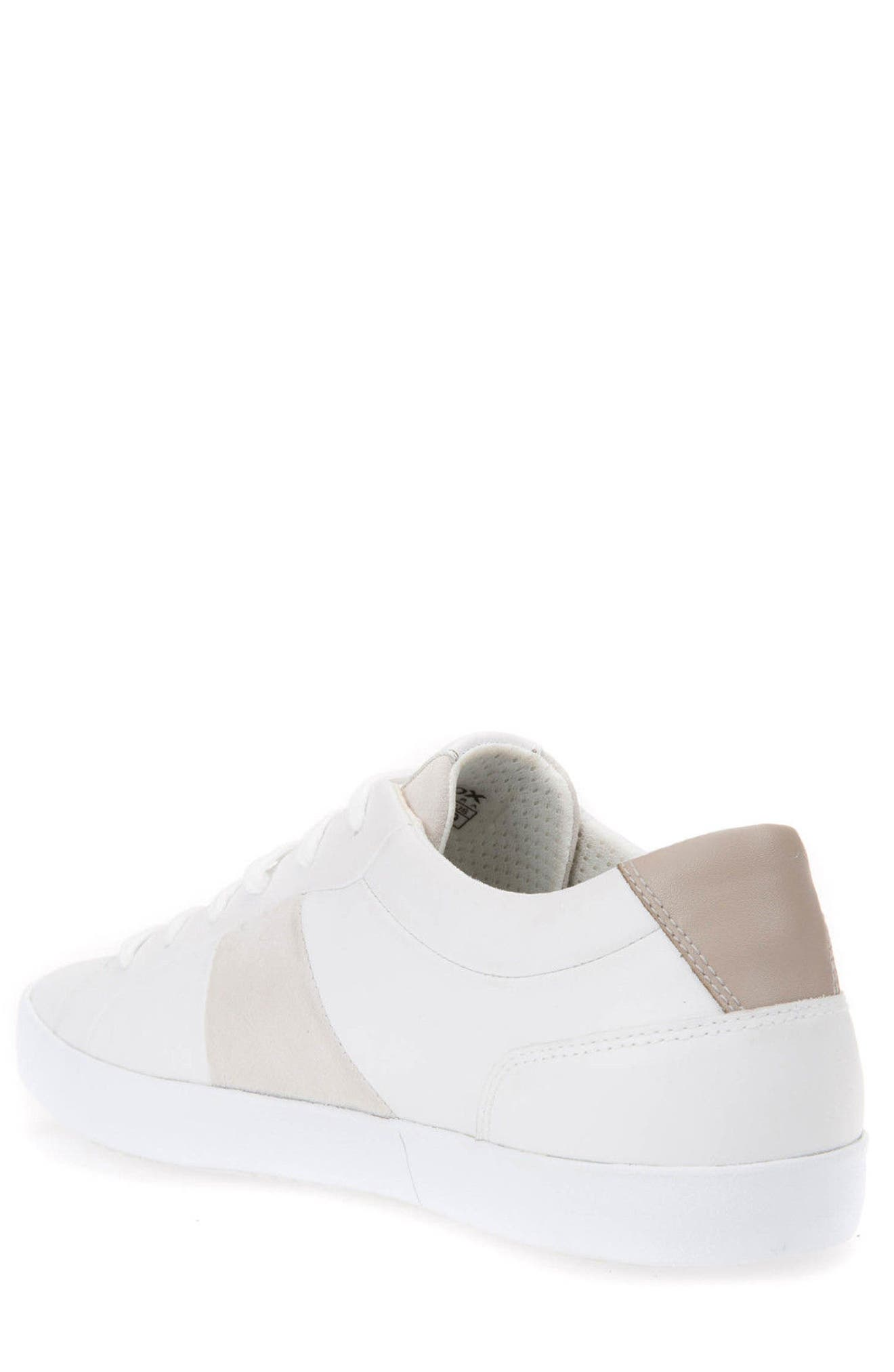 Smart 78 Sneaker,                             Alternate thumbnail 2, color,                             White/ Papyrus Leather