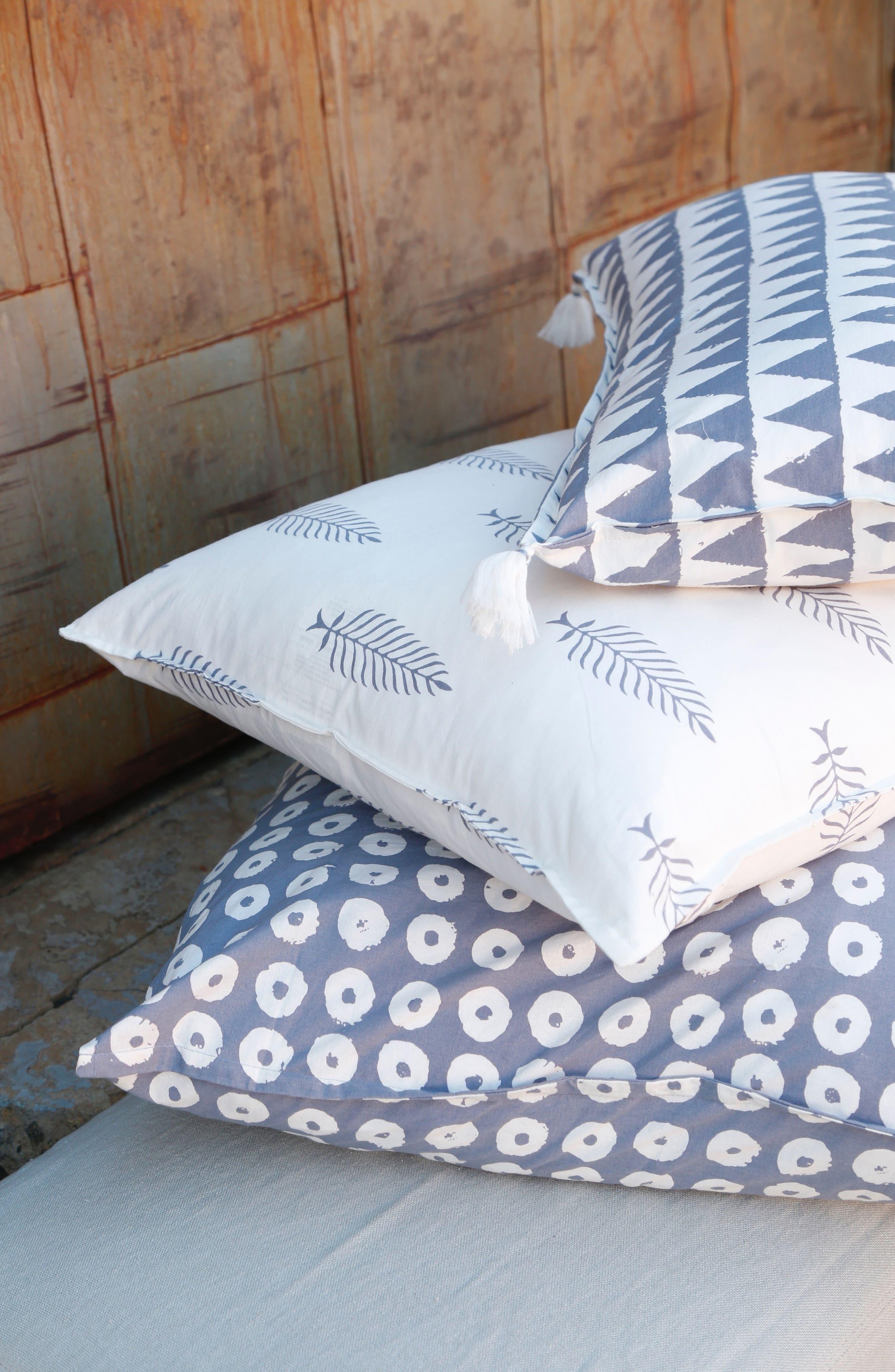 Kiara Accent Pillow,                             Alternate thumbnail 2, color,                             Blue Multi