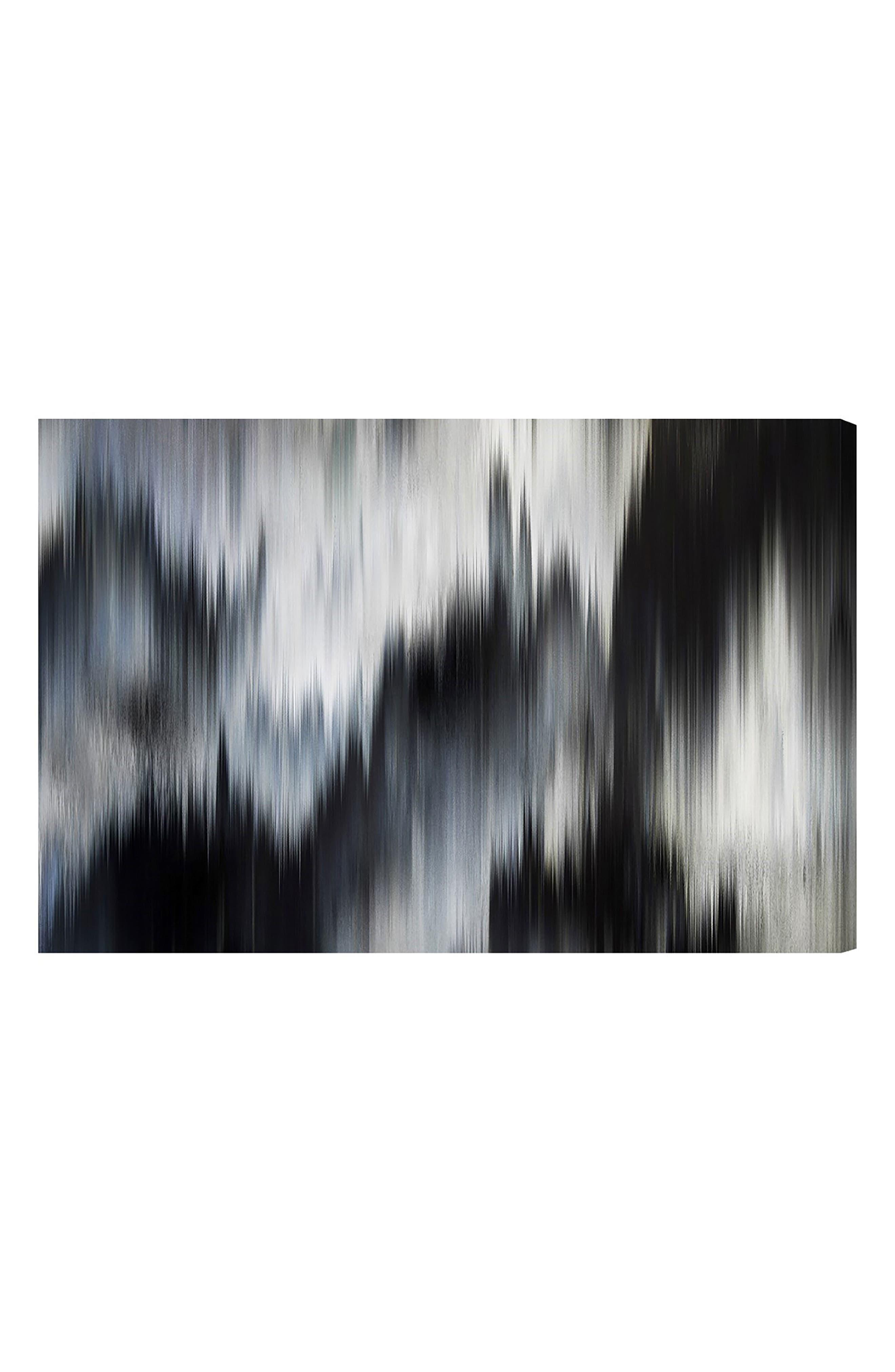 Eleganza Noir Canvas Wall Art,                         Main,                         color, Black