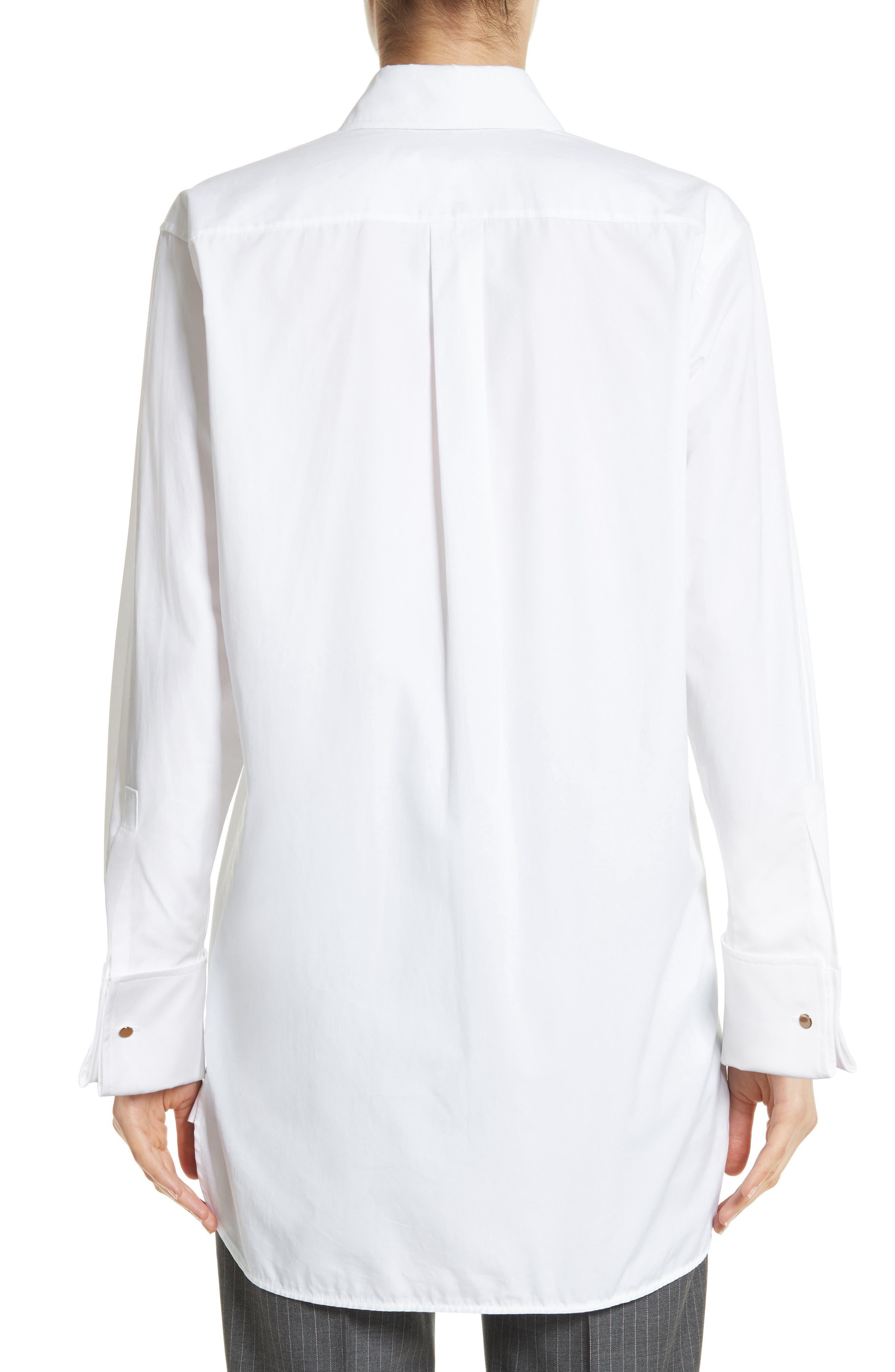 Alternate Image 2  - Max Mara Visivo Cotton Poplin Shirt