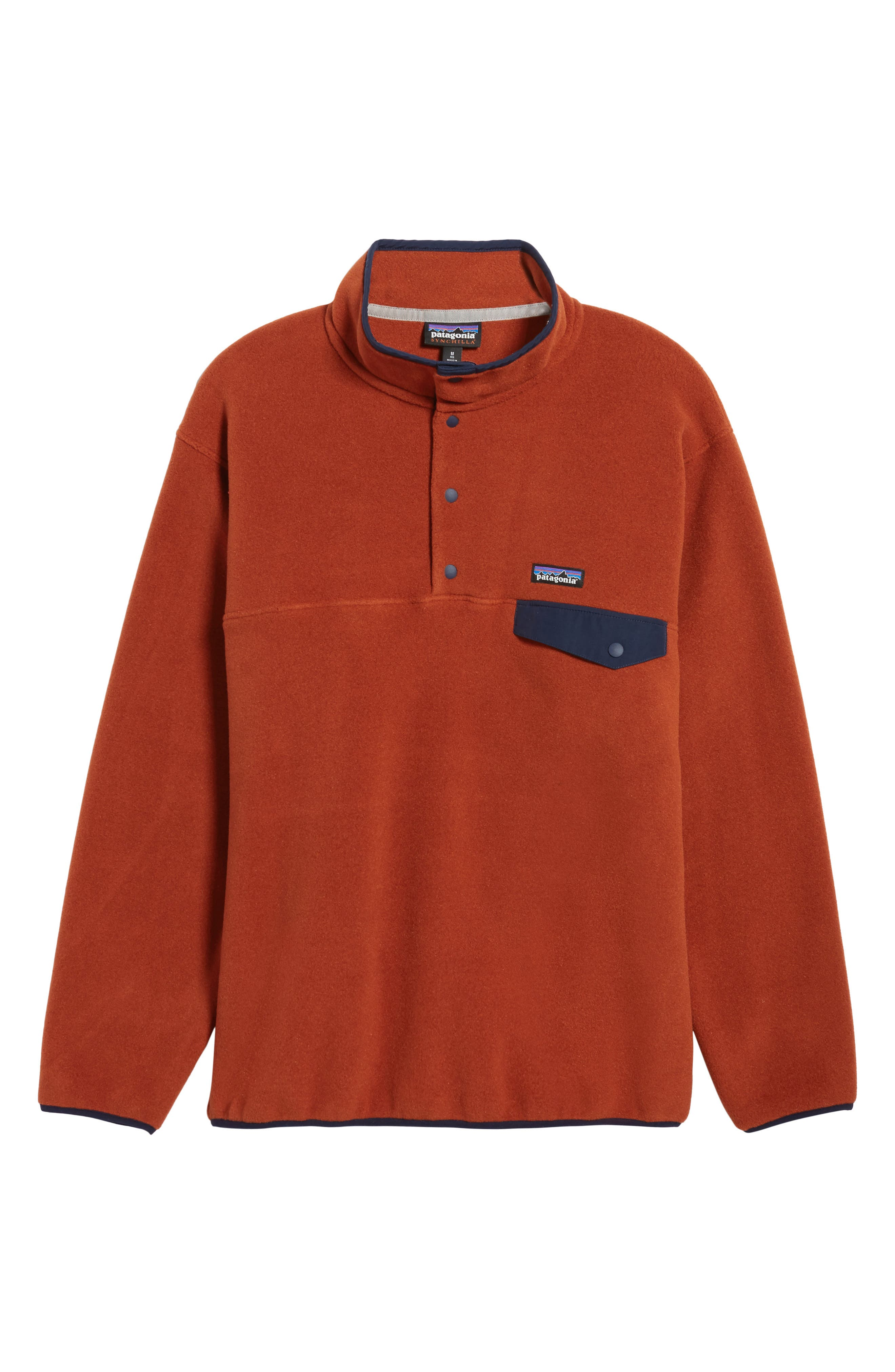 Alternate Image 6  - Patagonia Synchilla® Snap-T® Pullover