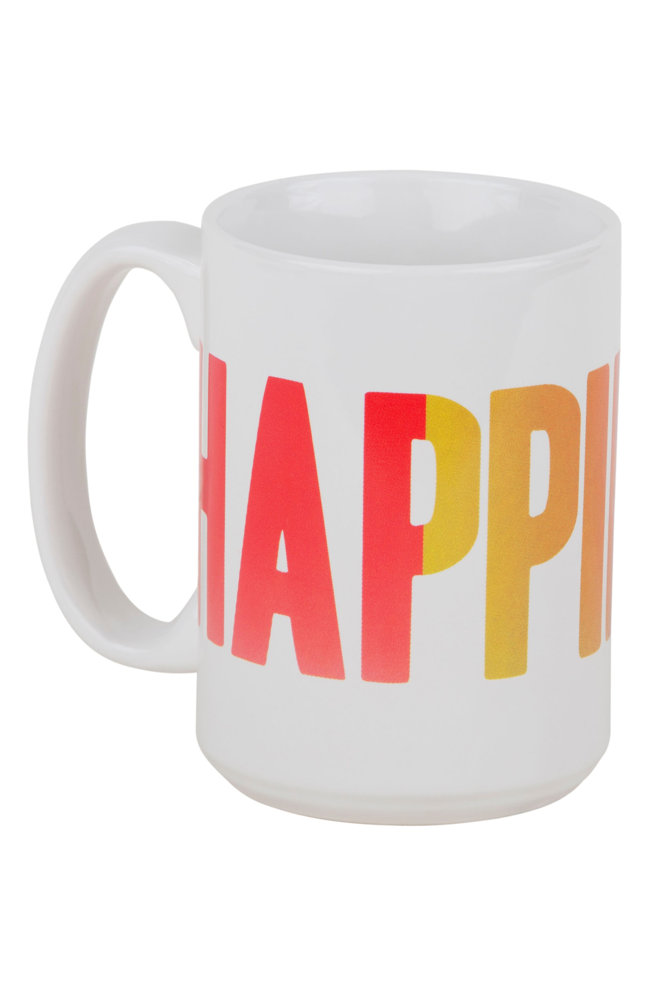 Alternate Image 2  - Sisters of Los Angeles Peace Love Happiness Set of 3 Mugs