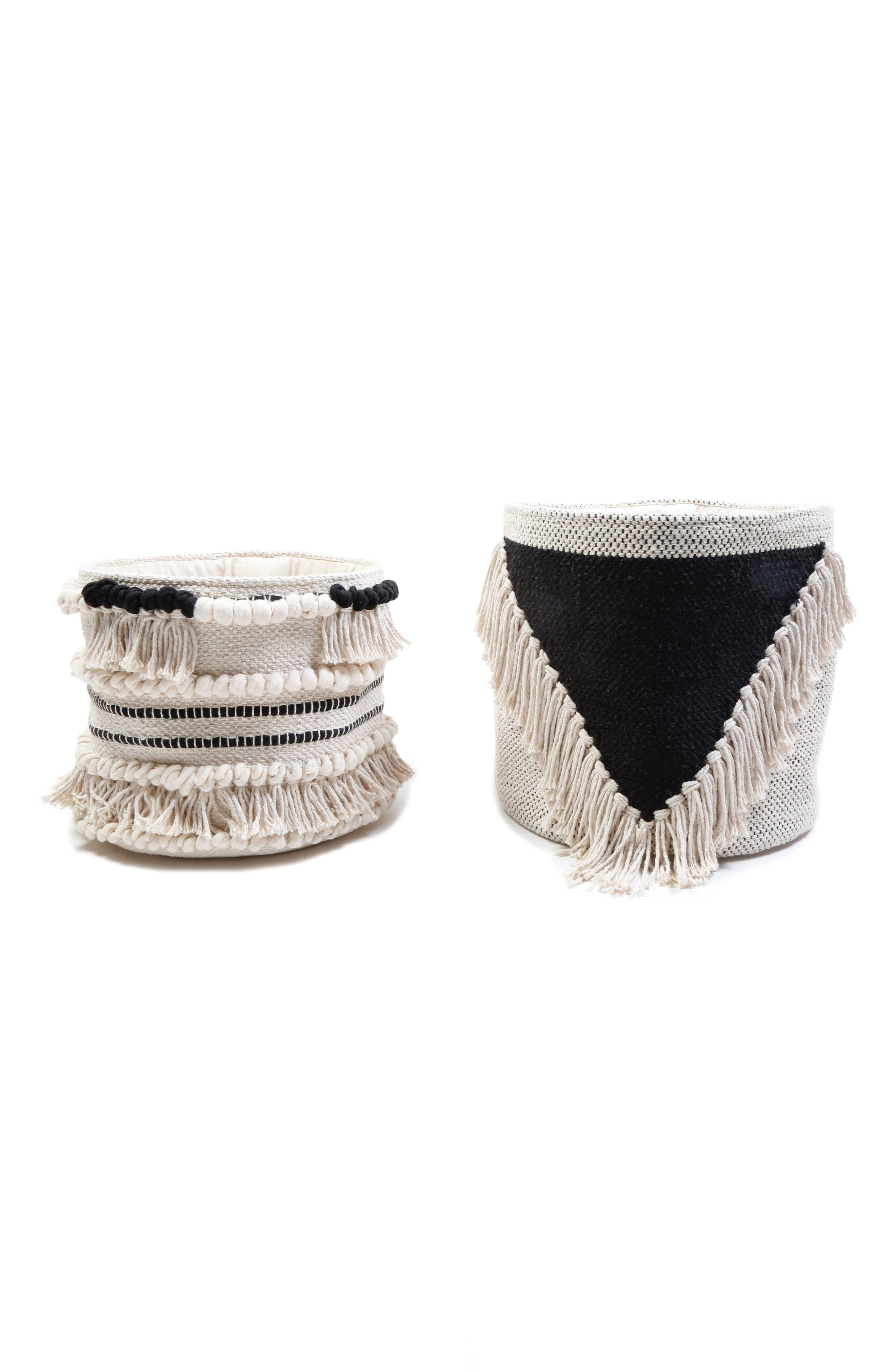 Pom Pom at Home Set of Two Woven Baskets
