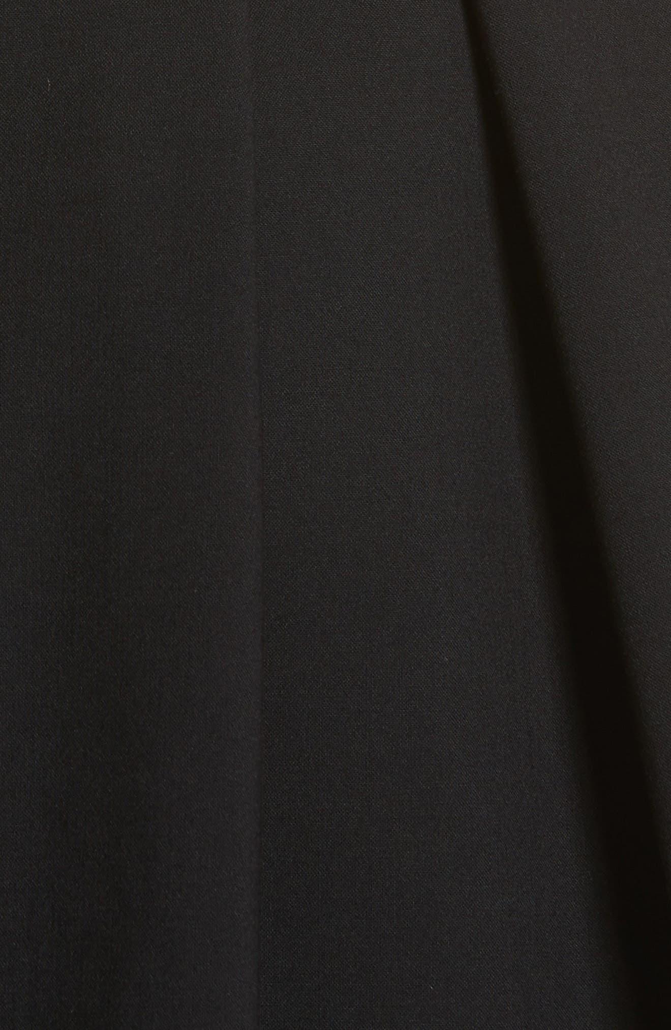Alternate Image 5  - Carolina Herrera Colorblock Cap Sleeve Dress