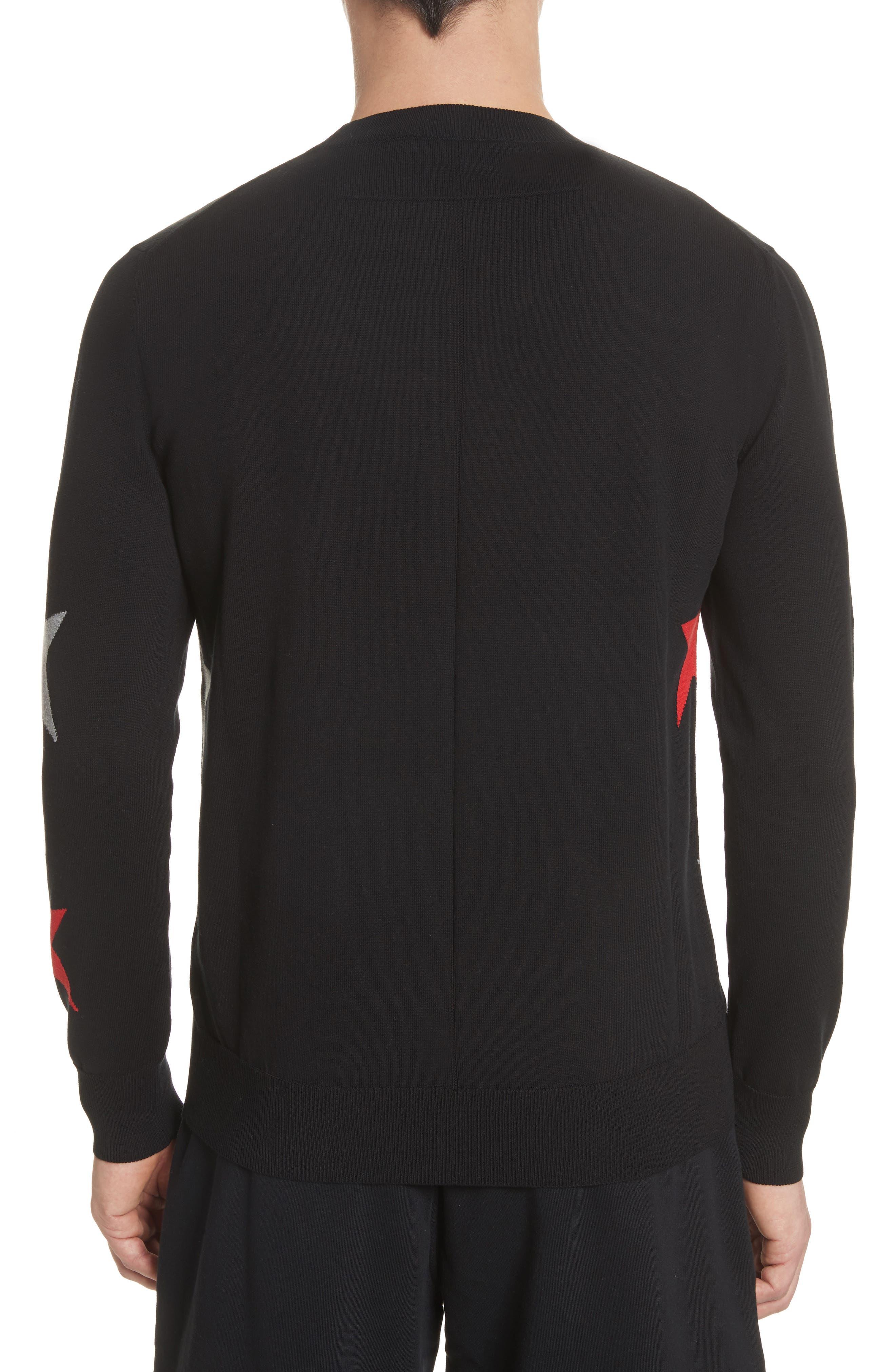 Alternate Image 2  - Givenchy Star Crewneck Sweater