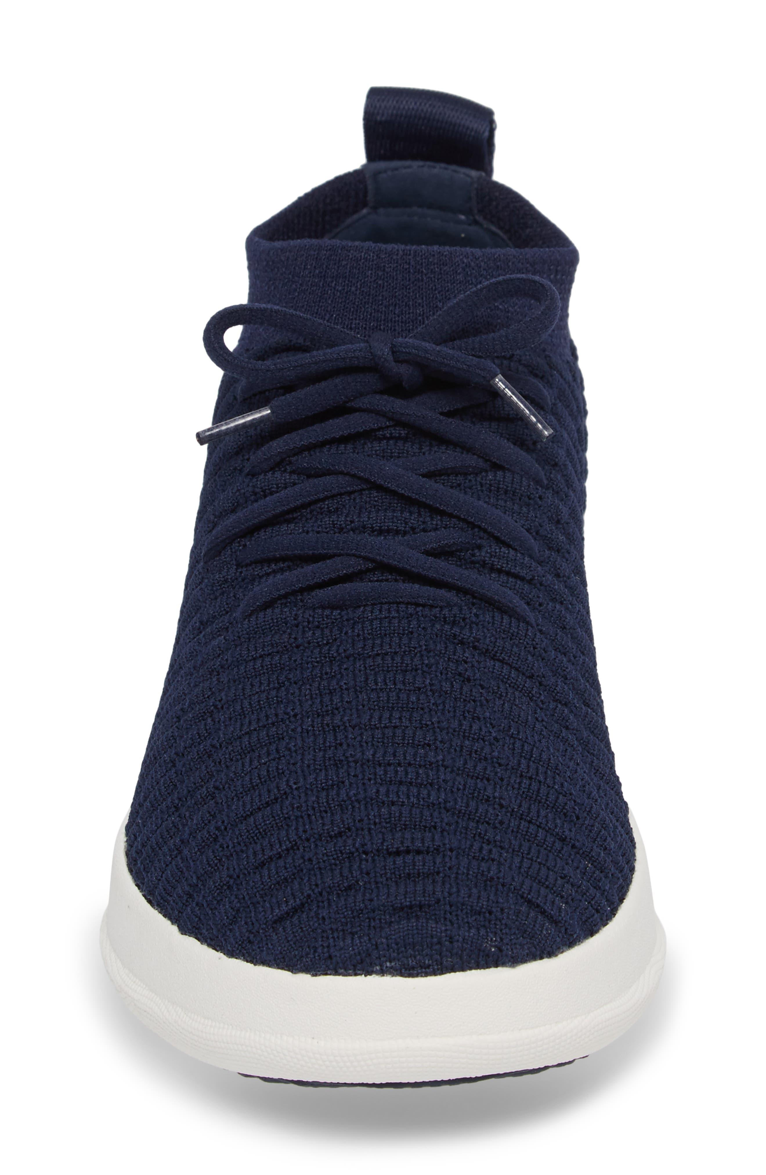 Uberknit<sup>™</sup> Slip-On High Top Sneaker,                             Alternate thumbnail 5, color,                             Midnight Navy