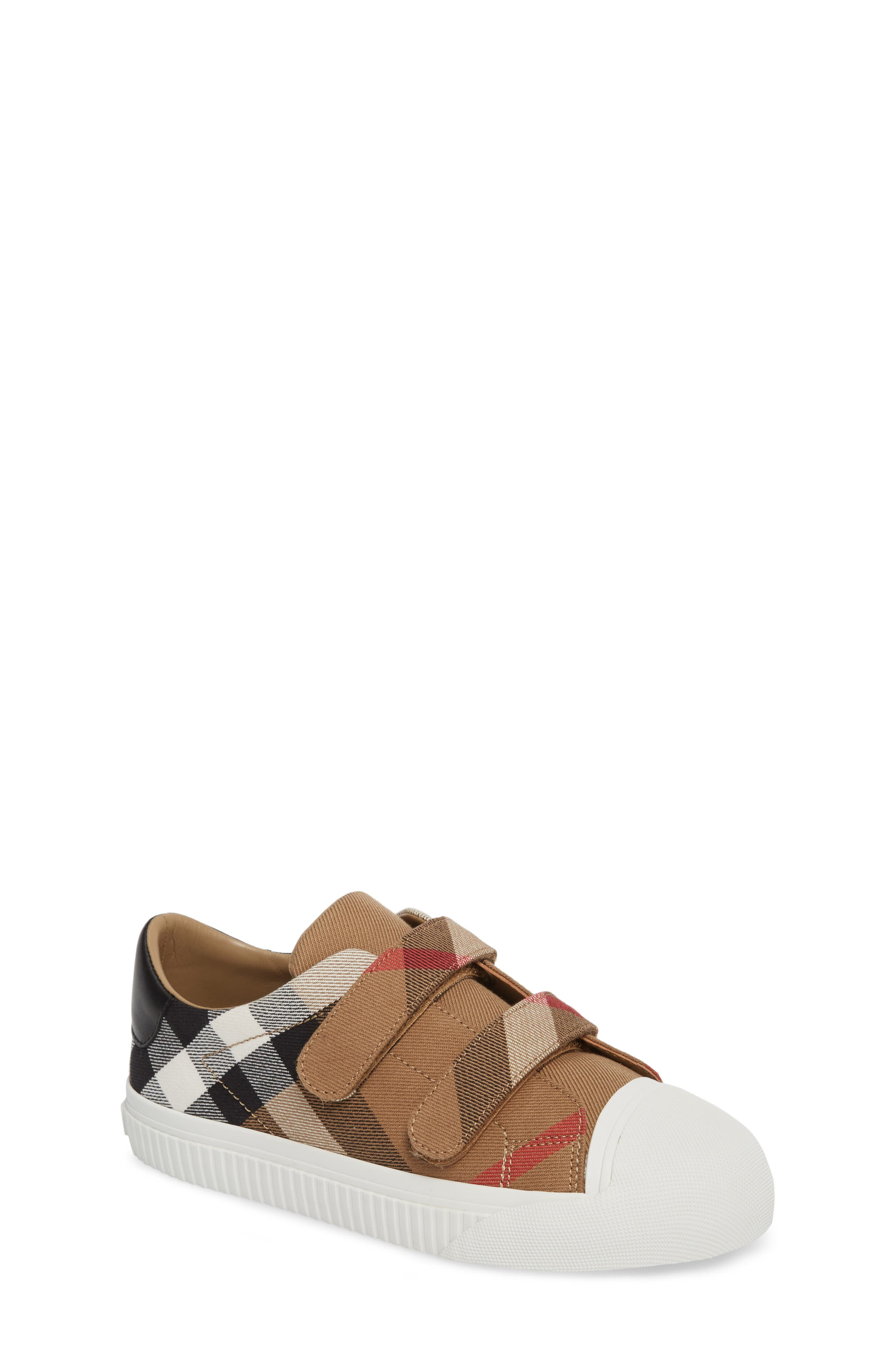 Burberry Belside Sneaker (Walker, Toddler & Little Kid)
