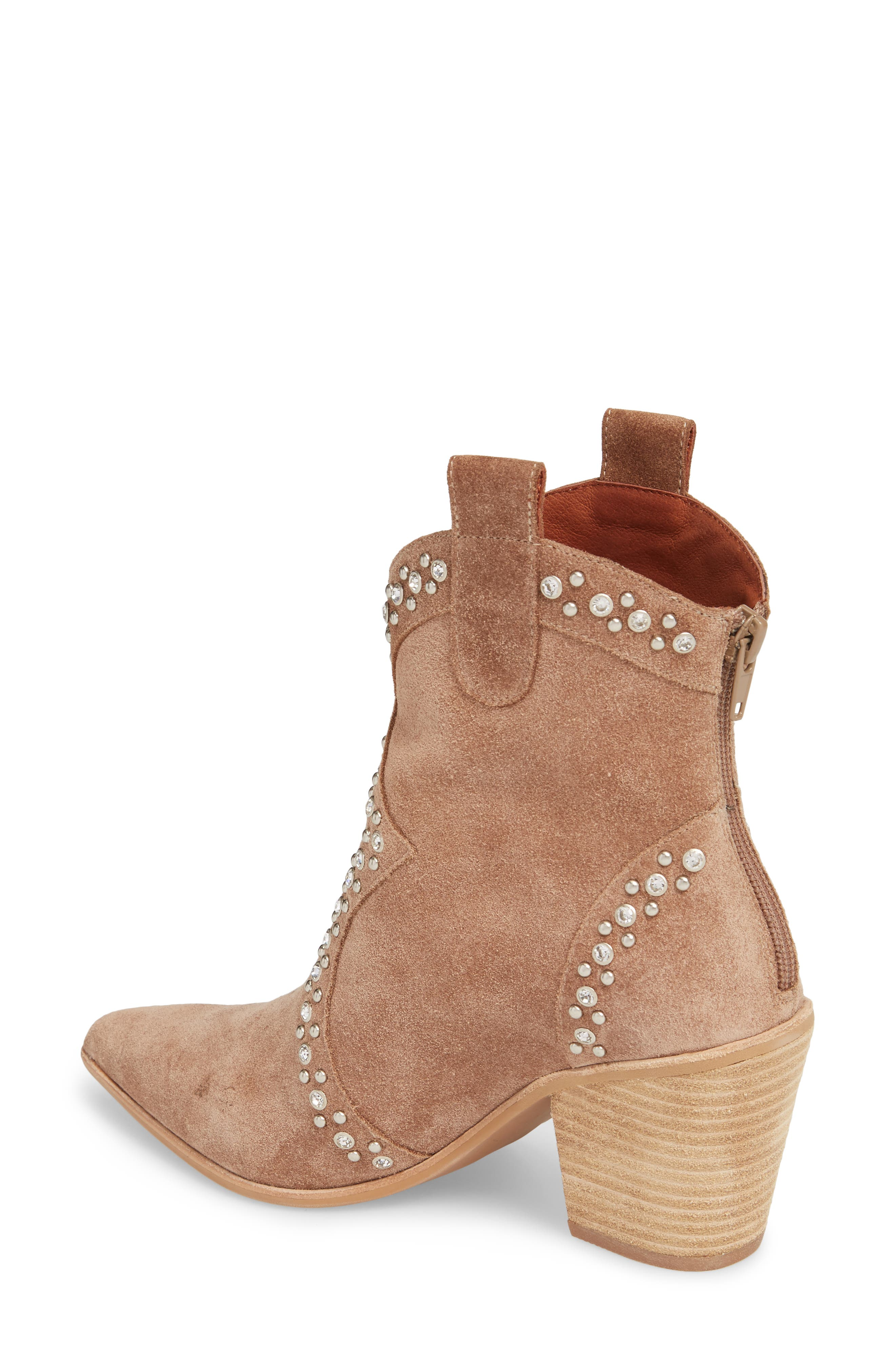 Alternate Image 2  - Jeffrey Campbell Nightwing Crystal Stud Bootie (Women)