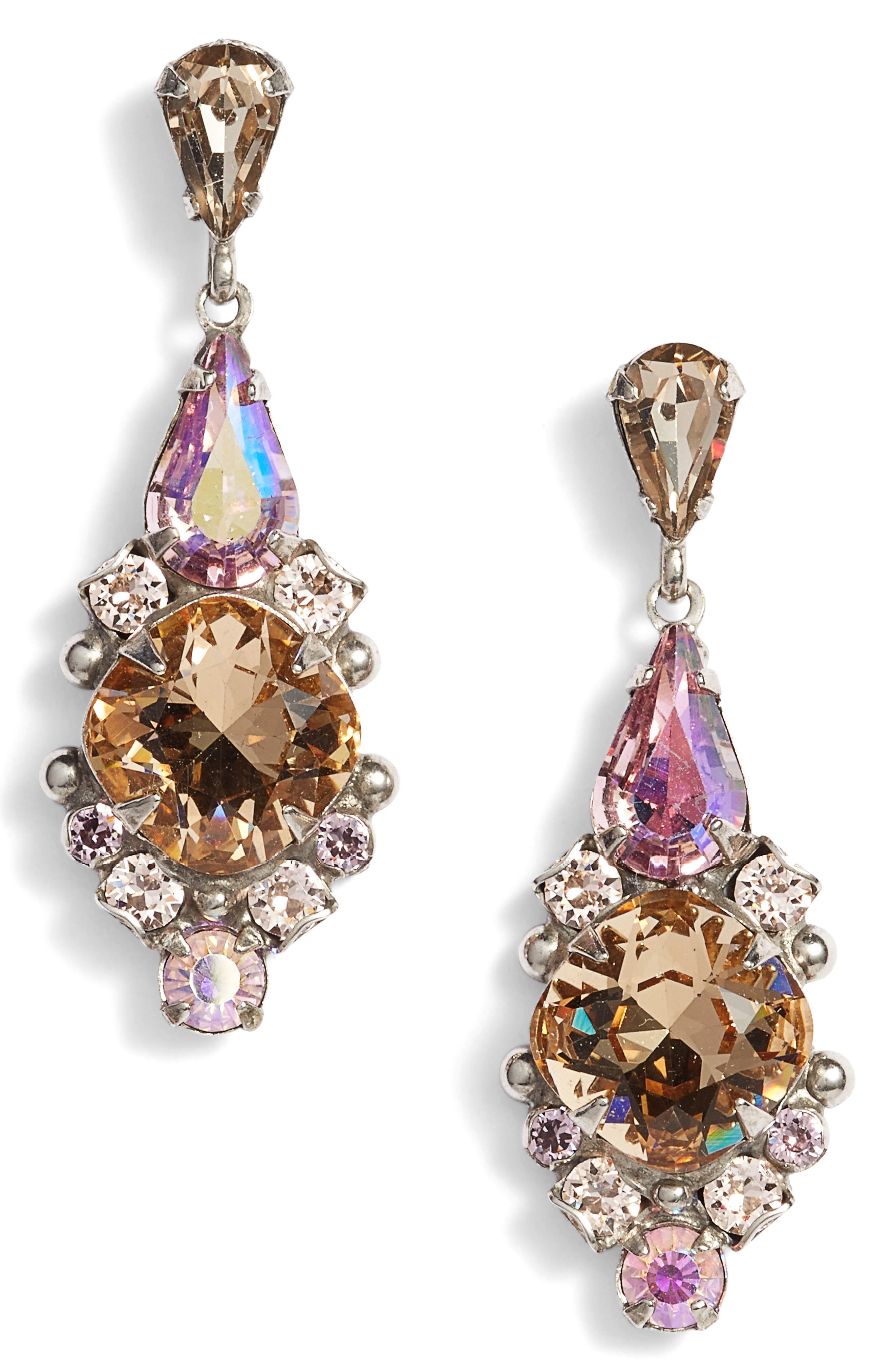 Sorrelli Alyssum Crystal Drop Earrings