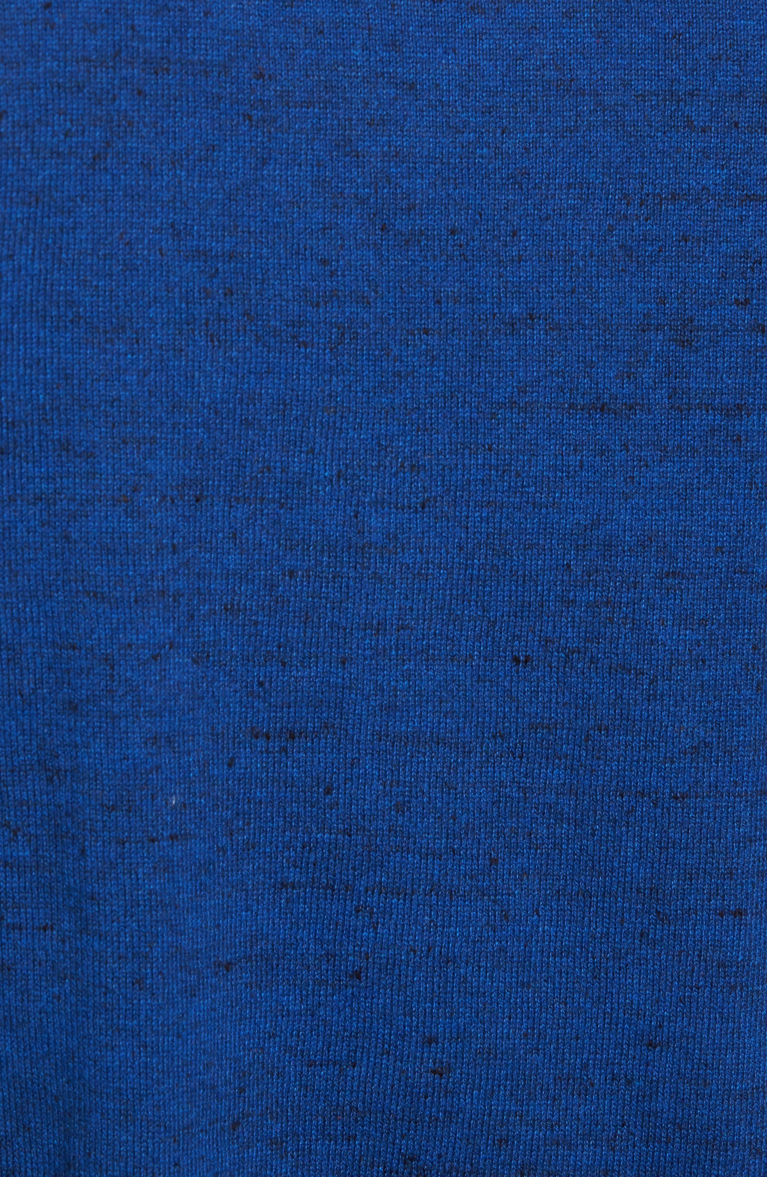 Alternate Image 5  - Nordstrom Men's Shop Cotton & Cashmere Crewneck Sweater (Regular & Tall)