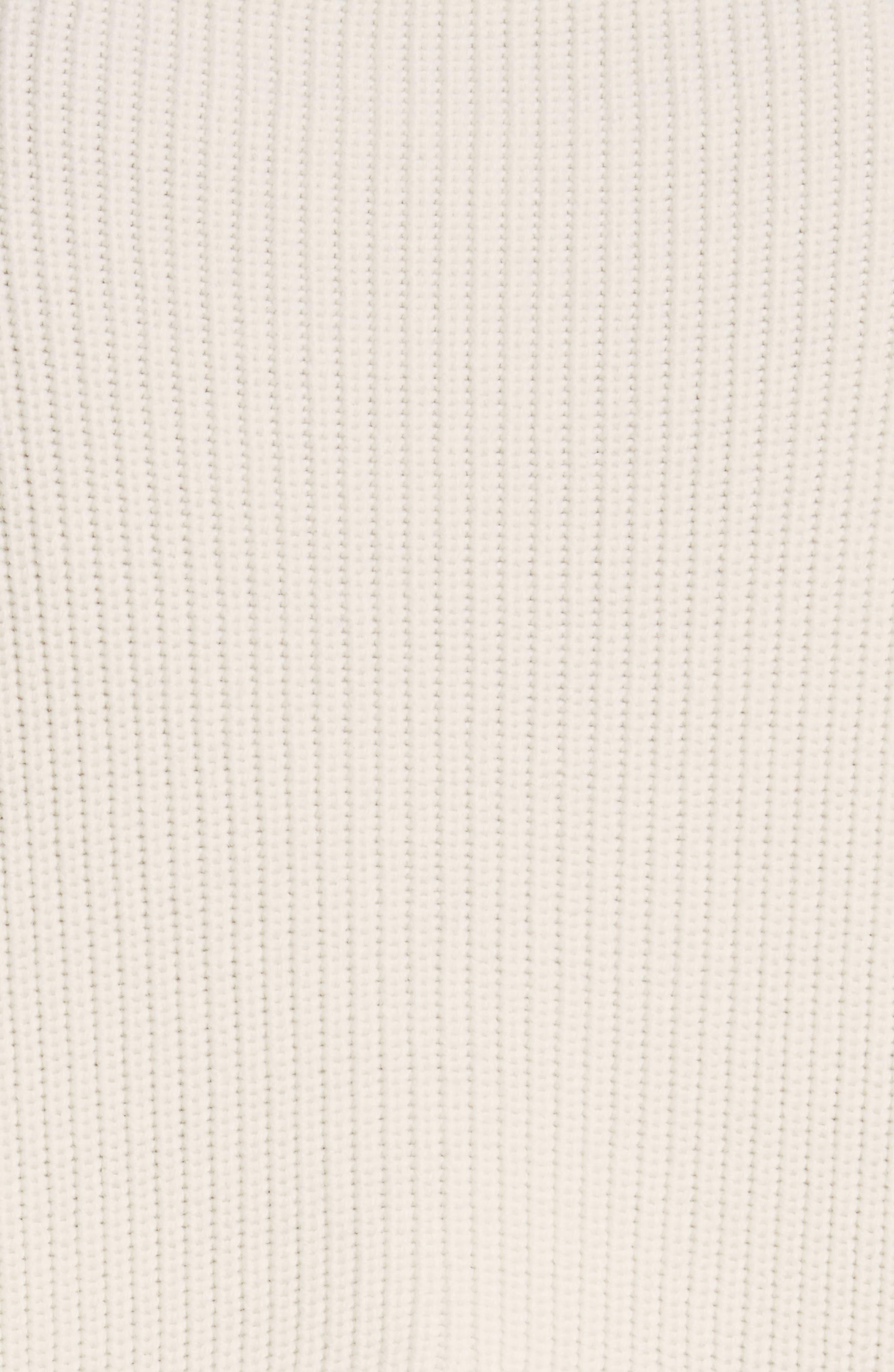 Alternate Image 5  - Stella McCartney Slit Back Virgin Wool Blend Sweater