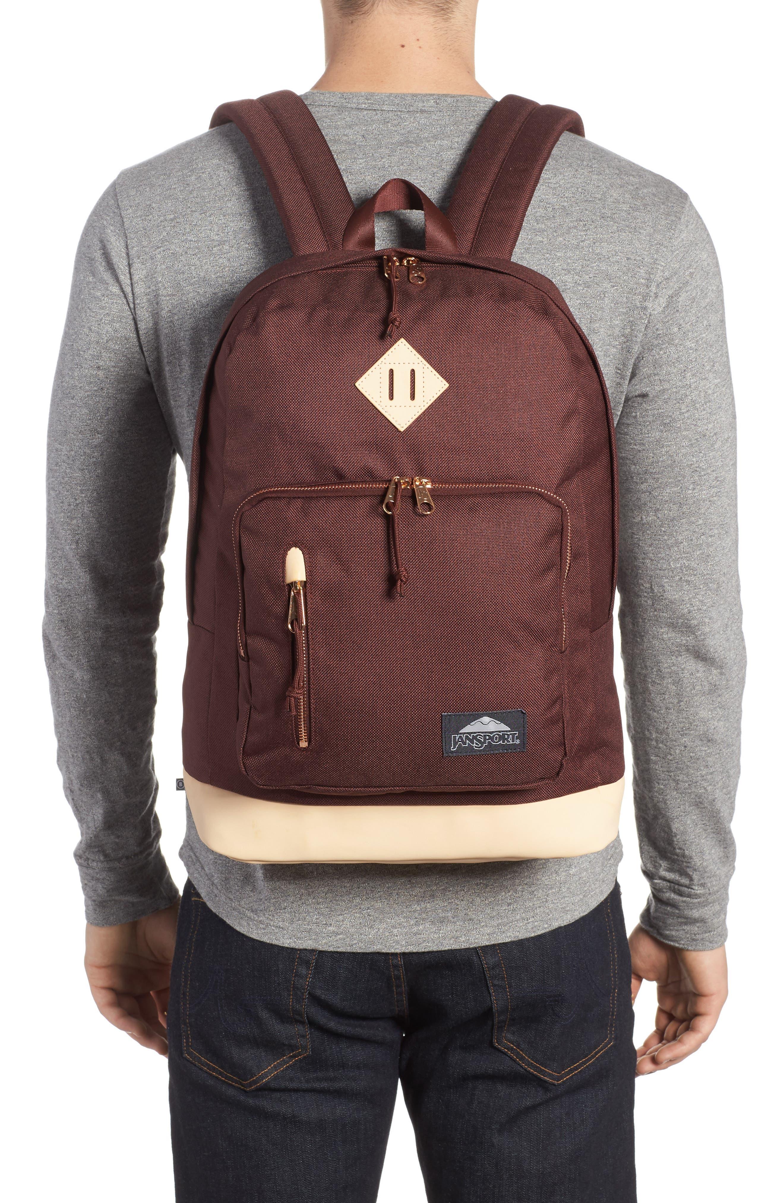 Red Rocks Axiom Backpack,                             Alternate thumbnail 2, color,                             Maroon Tweed