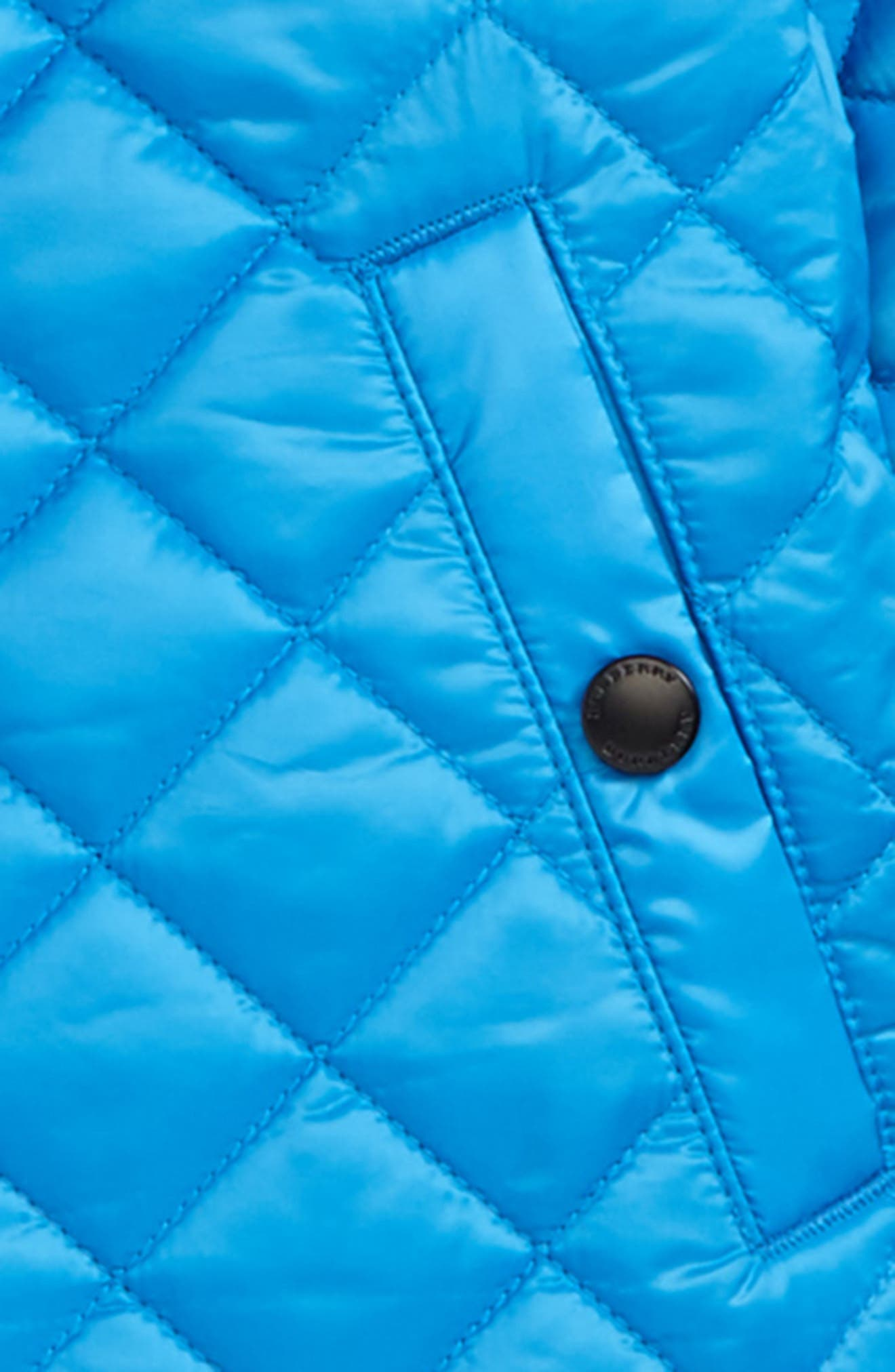 Luke Quilted Jacket,                             Alternate thumbnail 2, color,                             Cyan Blue