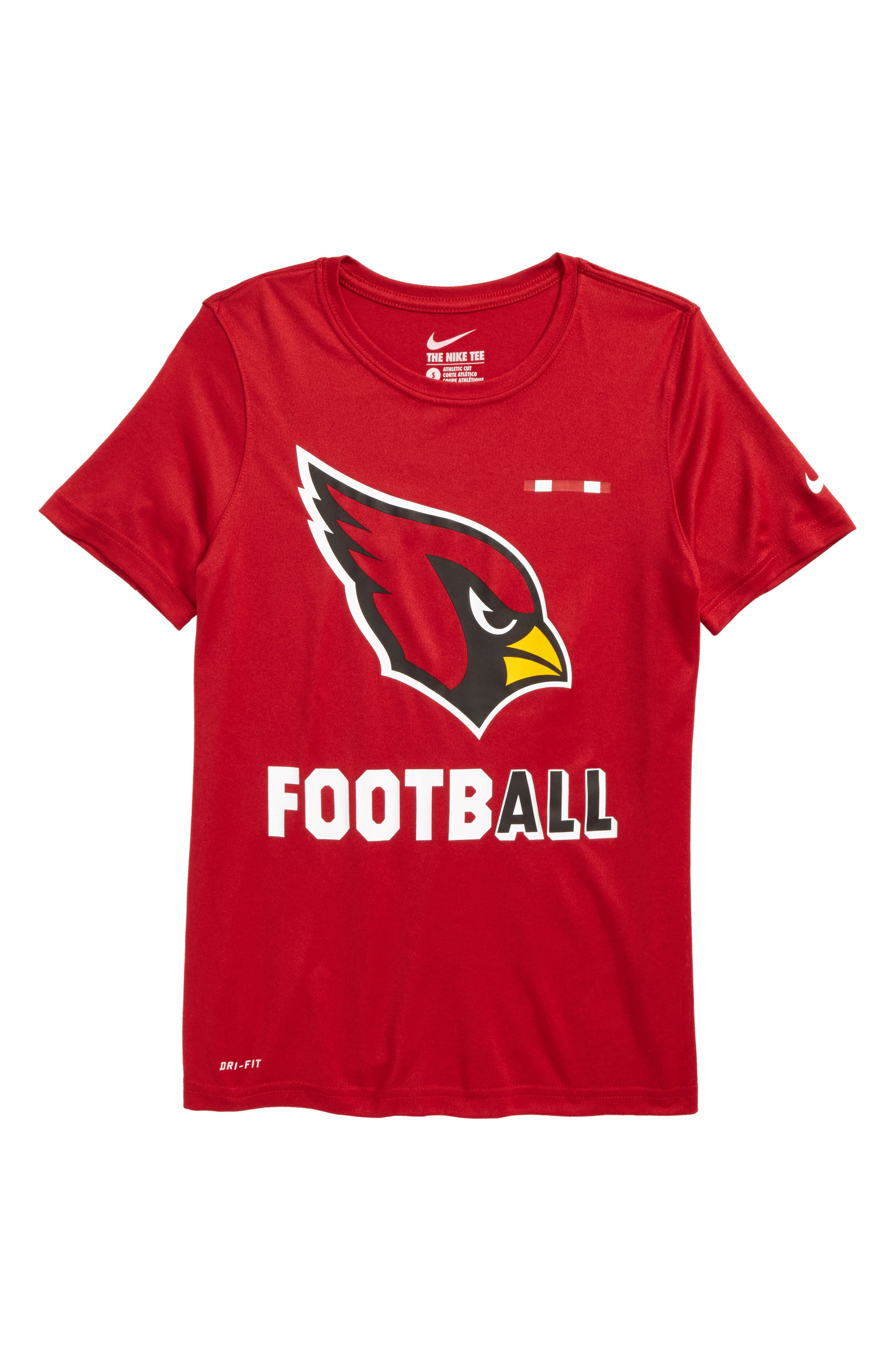 Nike NFL Logo - Arizona Cardinals Dry T-Shirt (Big Boys)